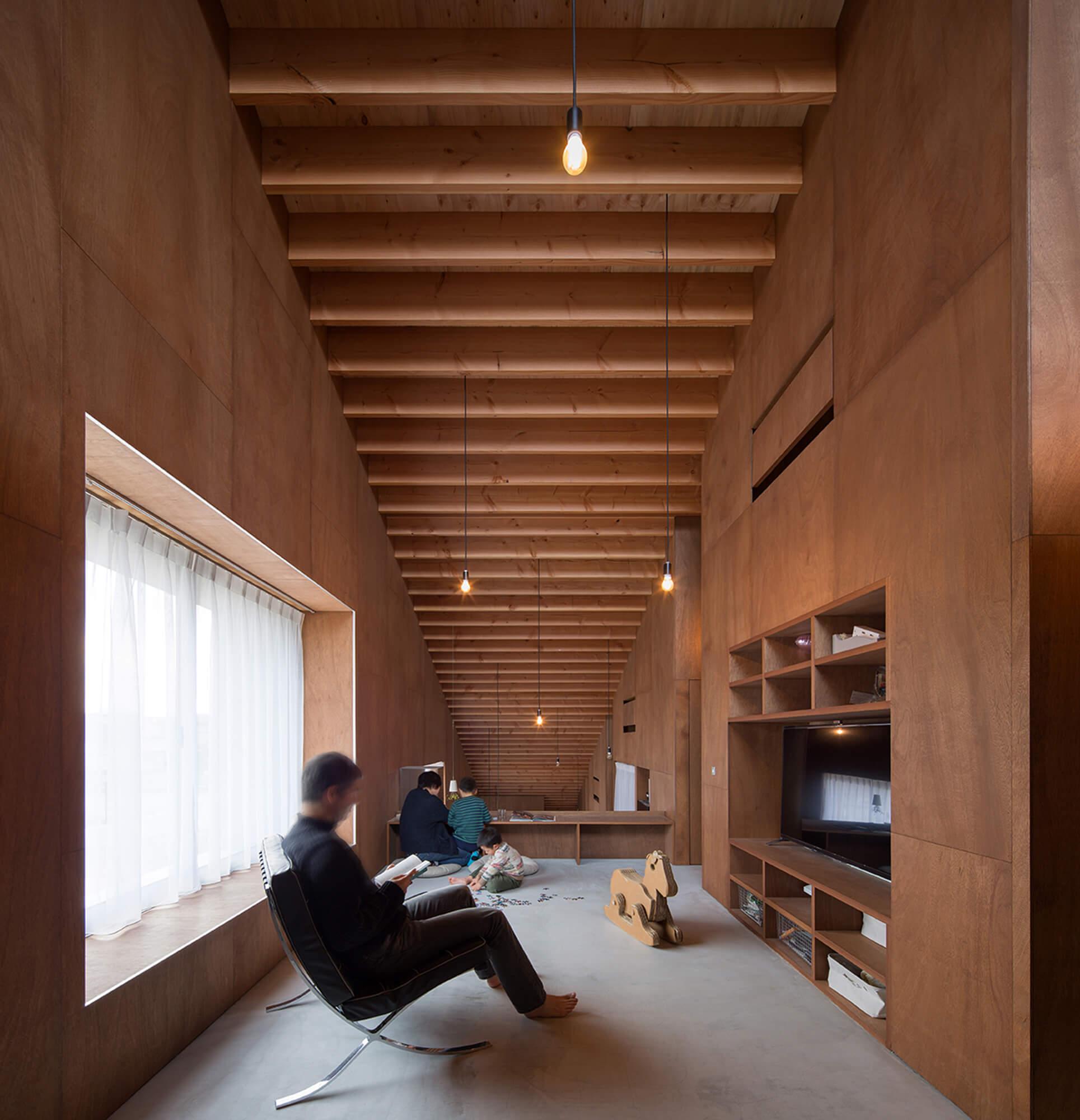 『5層のワンルーム住居』建築写真・竣工写真・インテリア写真12
