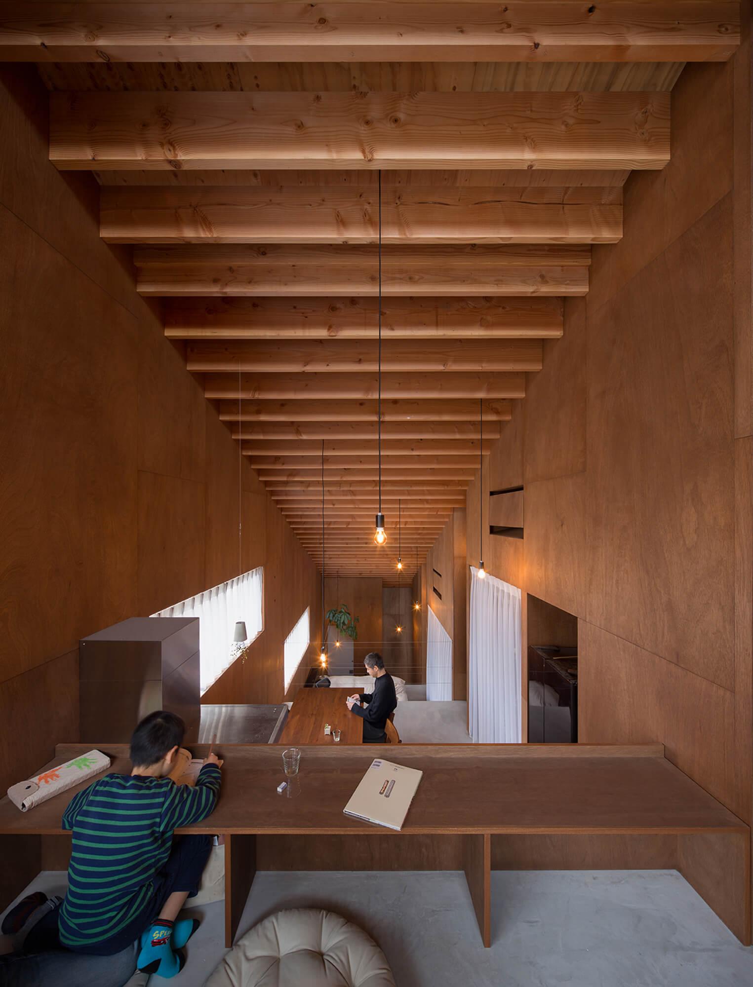 『5層のワンルーム住居』建築写真・竣工写真・インテリア写真11
