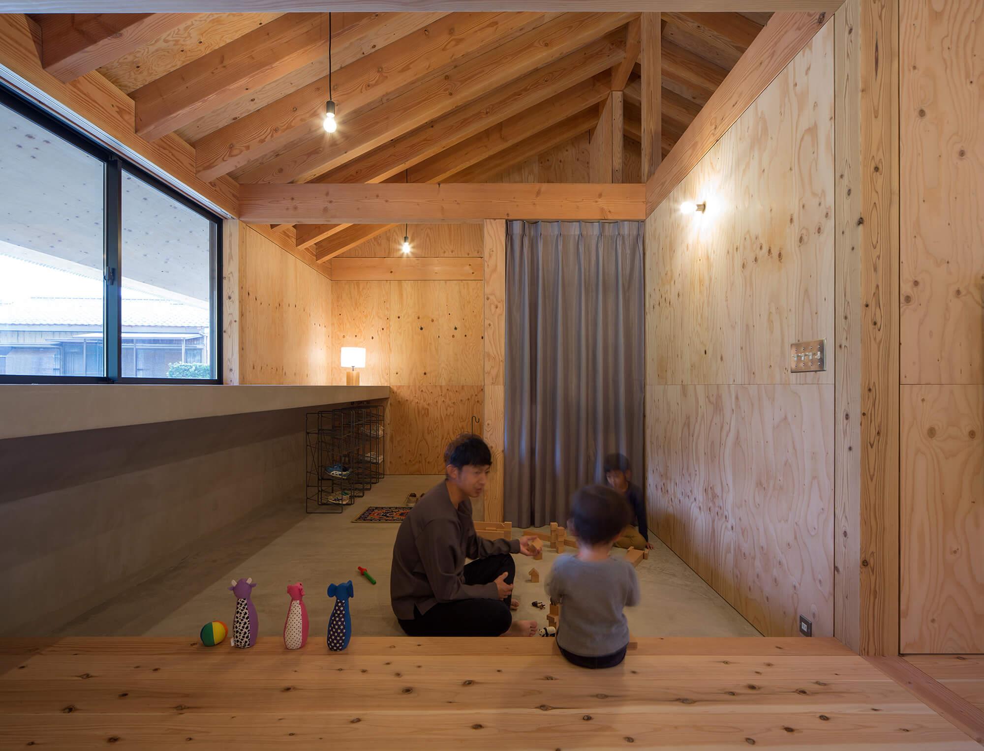 『大屋根の棲家』建築写真・竣工写真・インテリア写真9