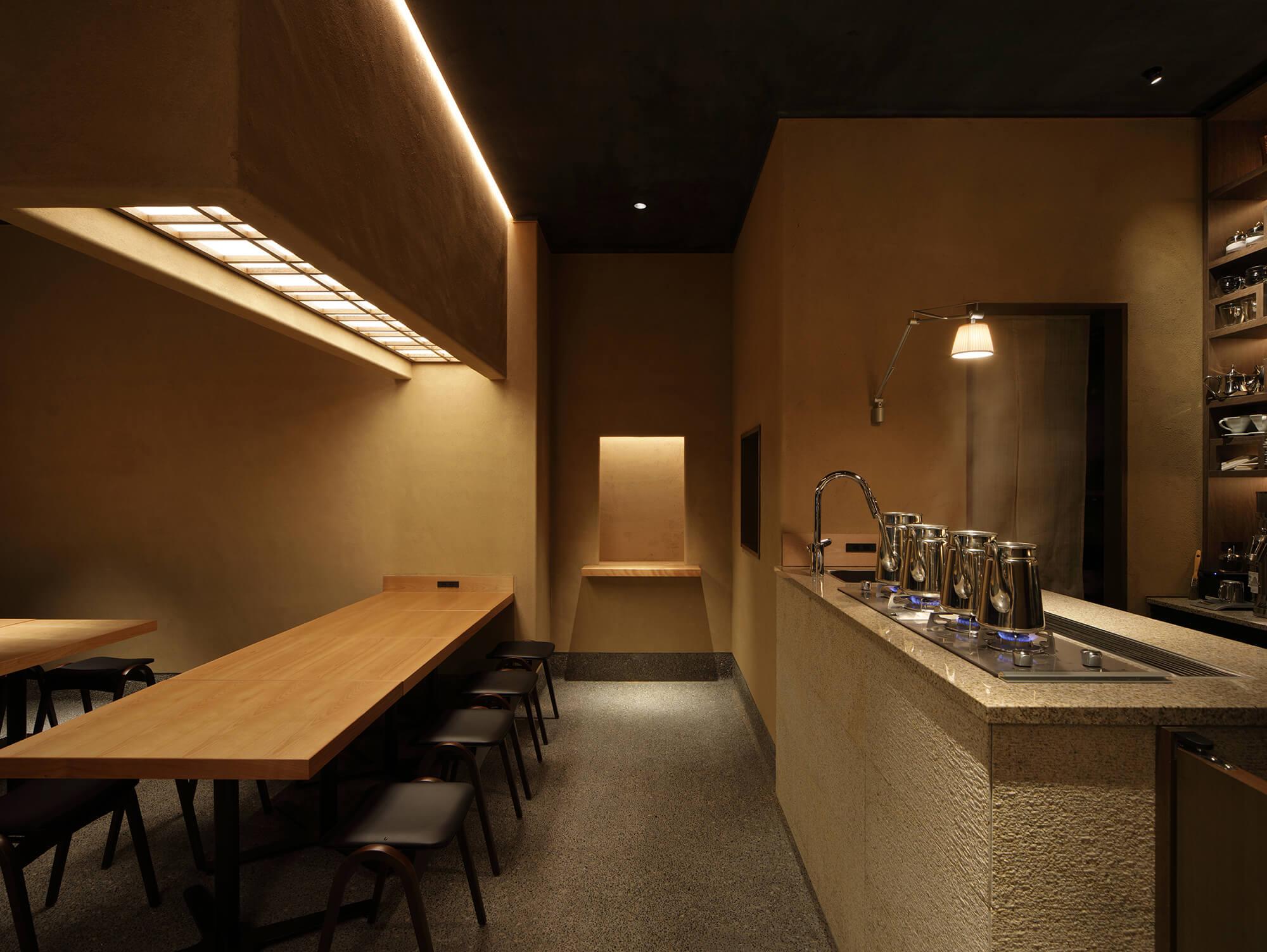 『赤坂茶房』建築写真・竣工写真・インテリア写真6