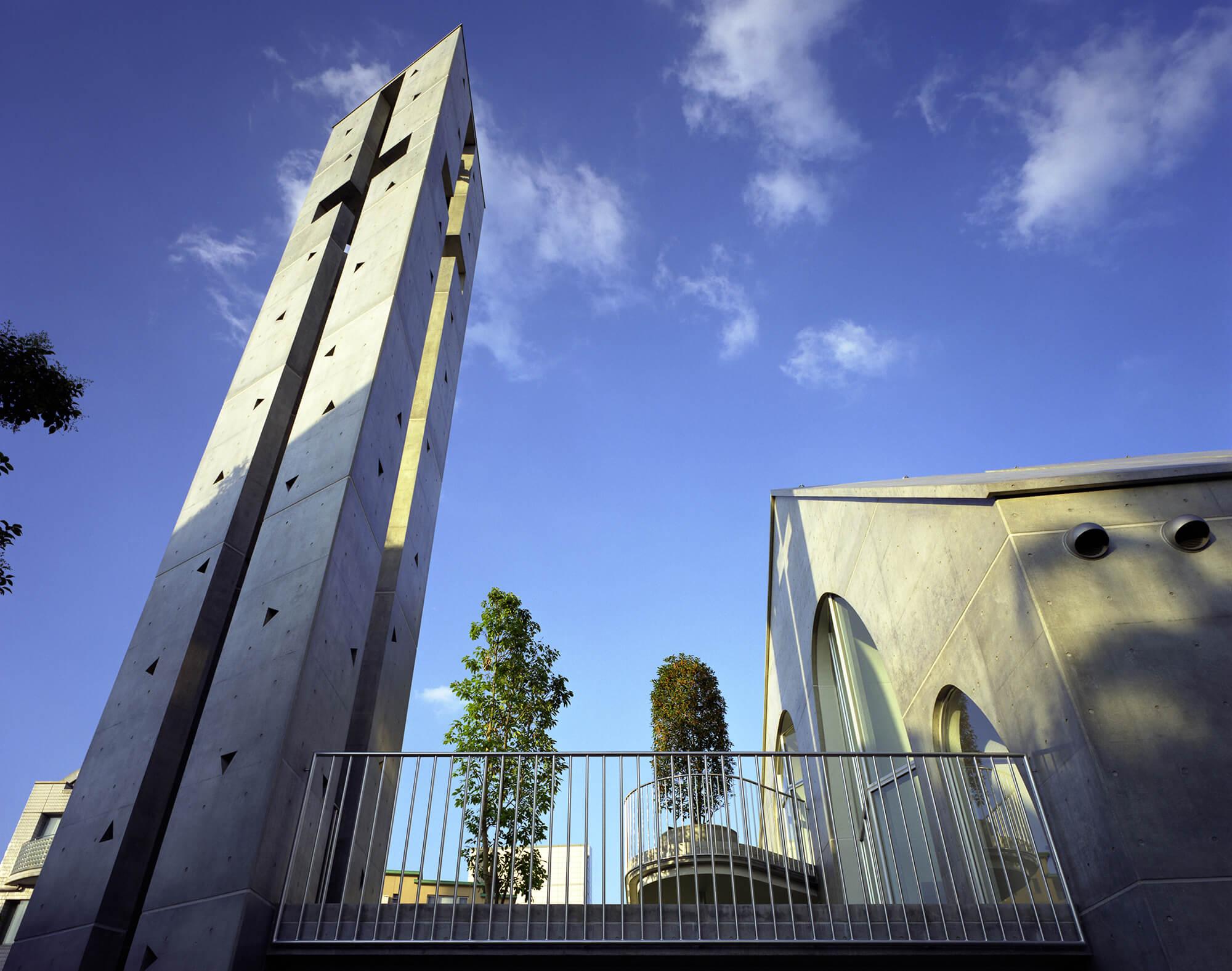 『原宿教会』-東京都-建築写真・竣工写真・インテリア写真3