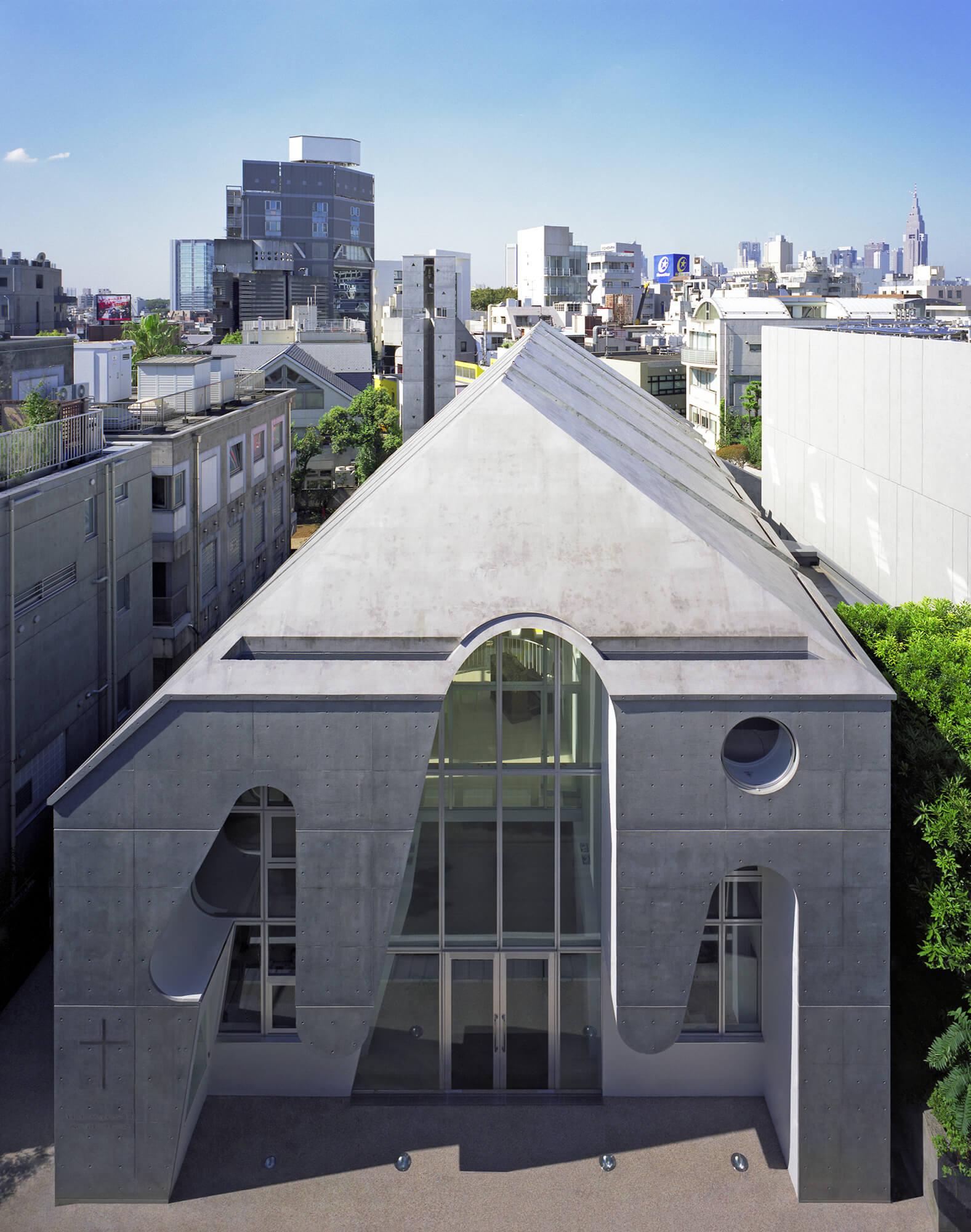 『原宿教会』-東京都-建築写真・竣工写真・インテリア写真2