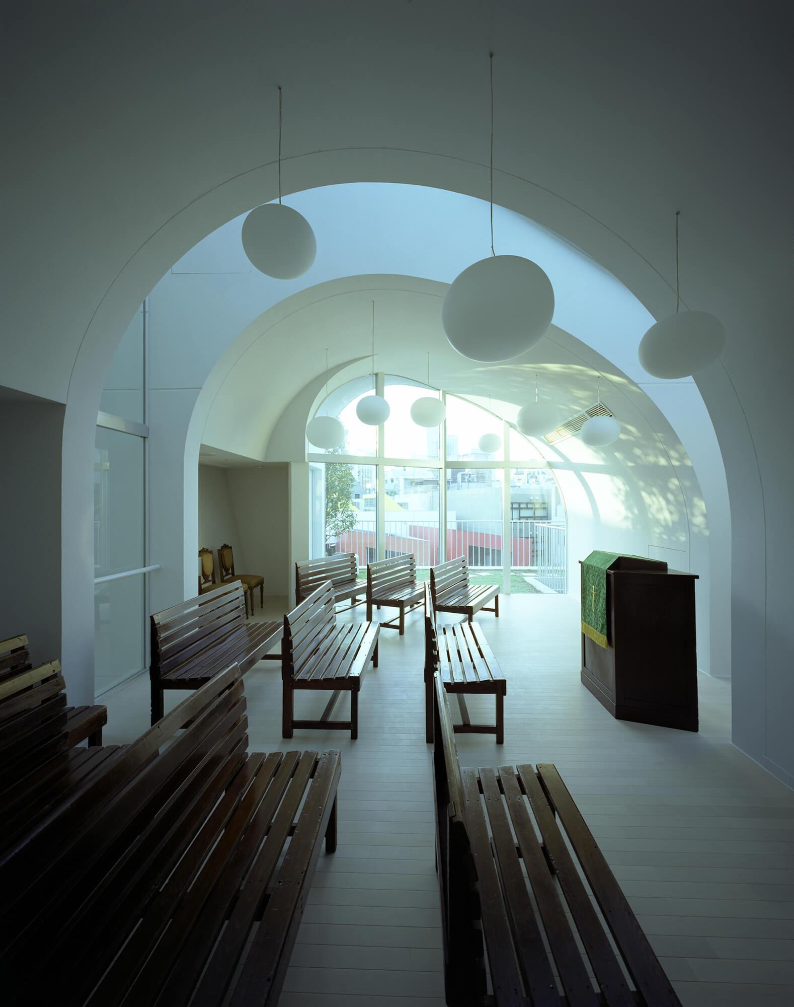 『原宿教会』建築写真・竣工写真・インテリア写真8