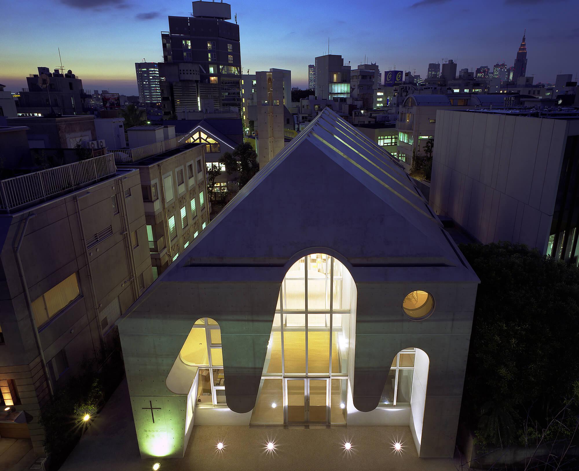 『原宿教会』建築写真・竣工写真・インテリア写真10