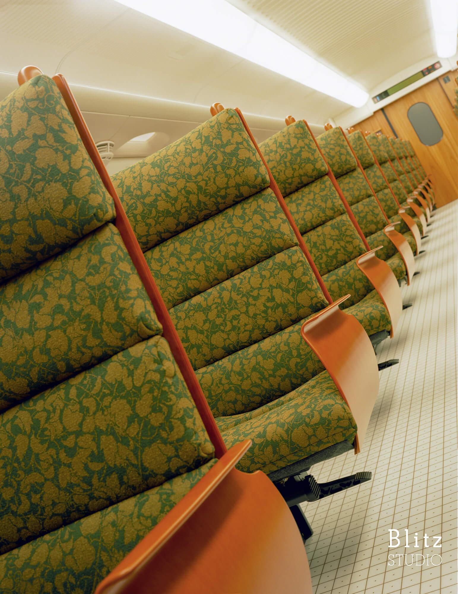 『九州新幹線 つばめ 800 KYUSHU SHINKANSEN TSUBAME 800』建築写真・竣工写真・インテリア写真7
