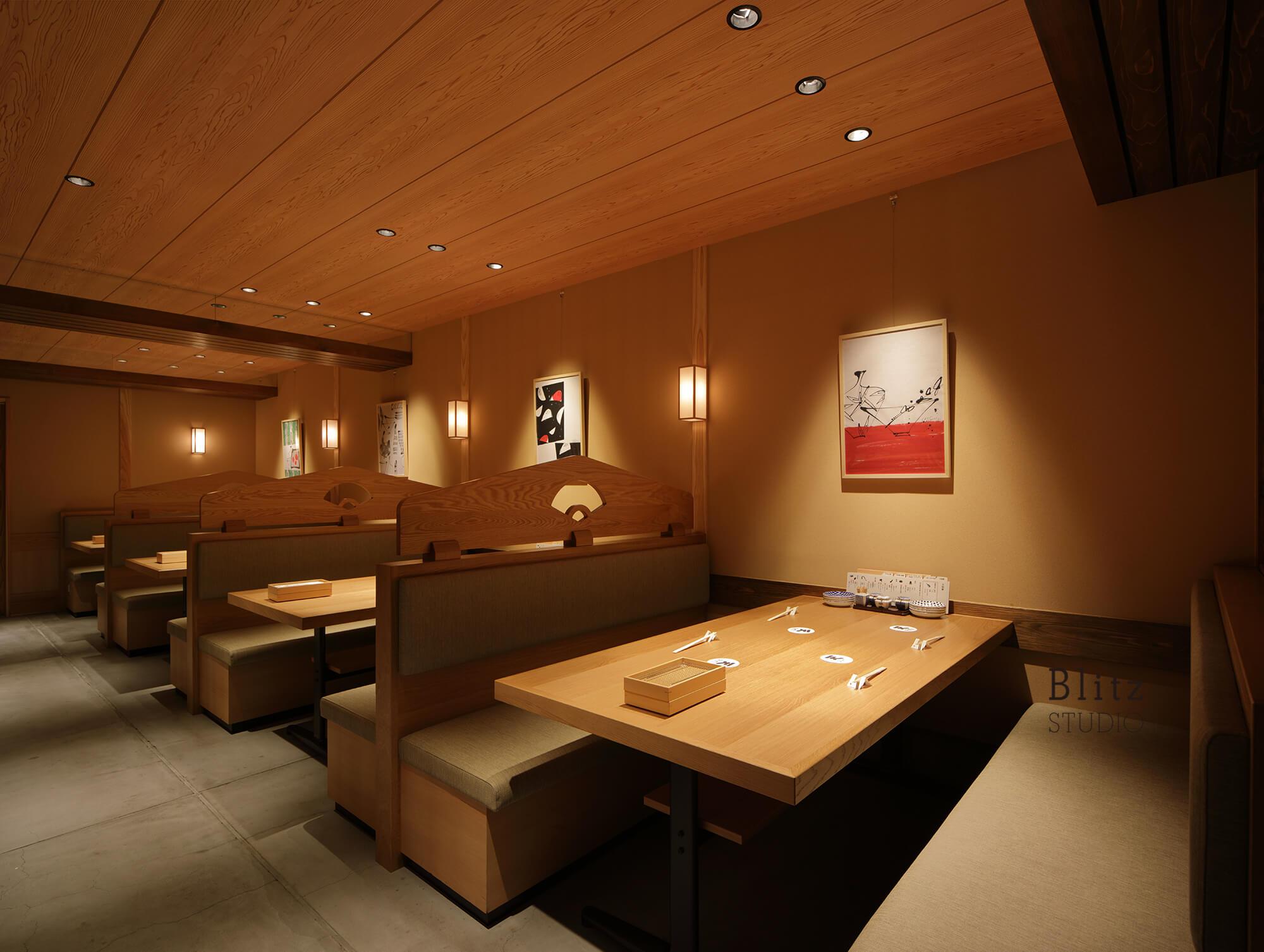 『天麩羅 すえ廣』-広島県-建築写真・竣工写真・インテリア写真5