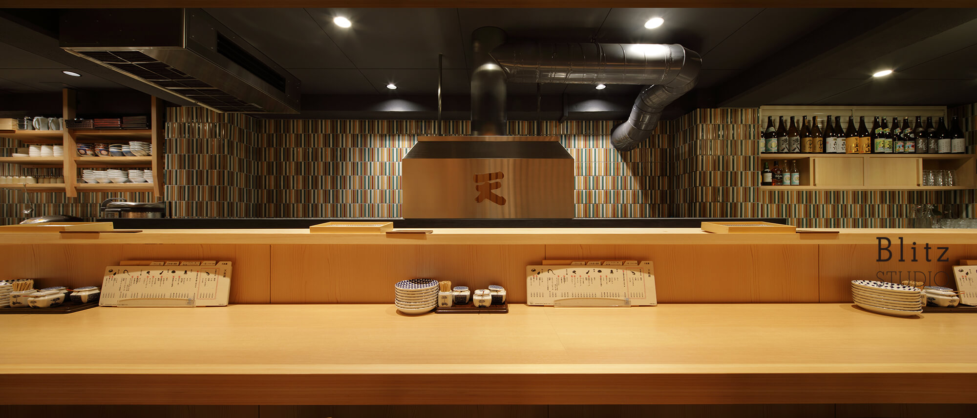 『天麩羅 すえ廣』-広島県-建築写真・竣工写真・インテリア写真2
