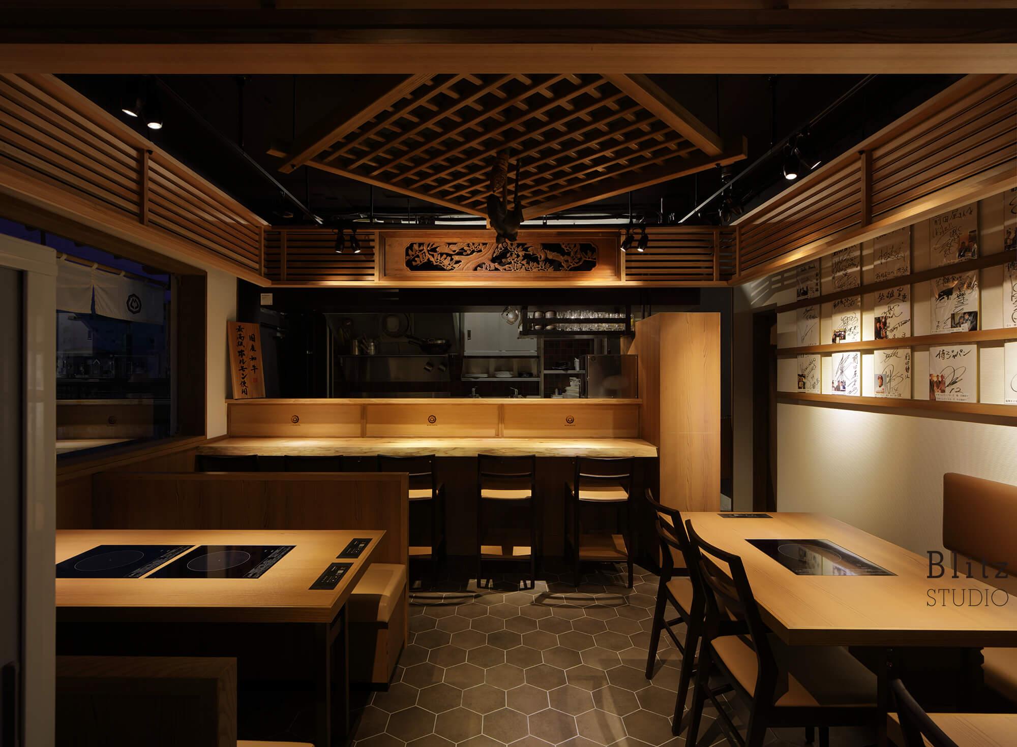 『博多もつ鍋 前田屋』-福岡県福岡市-建築写真・竣工写真・インテリア写真4