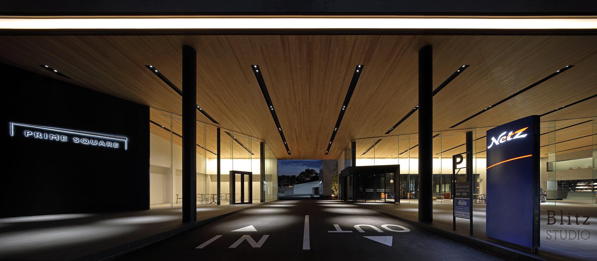 『Netz Toyota Nagasaki PRIME SQUARE』建築写真・竣工写真・インテリア写真12