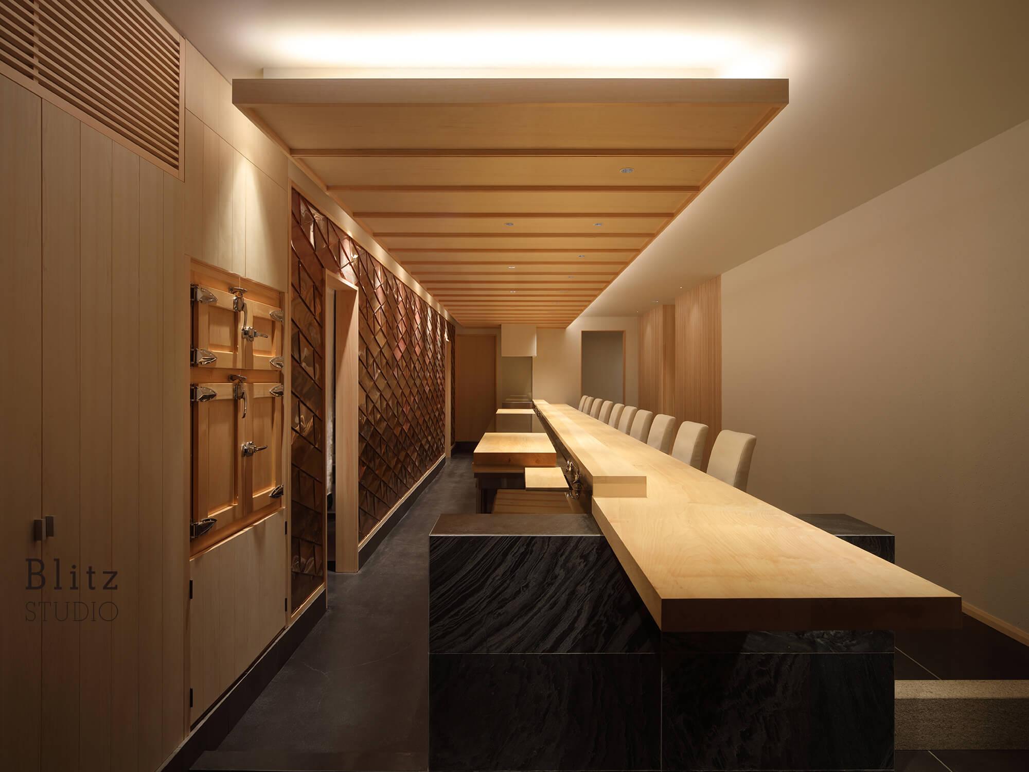 『鮨ほまれ』-福岡県福岡市-建築写真・竣工写真・インテリア写真5