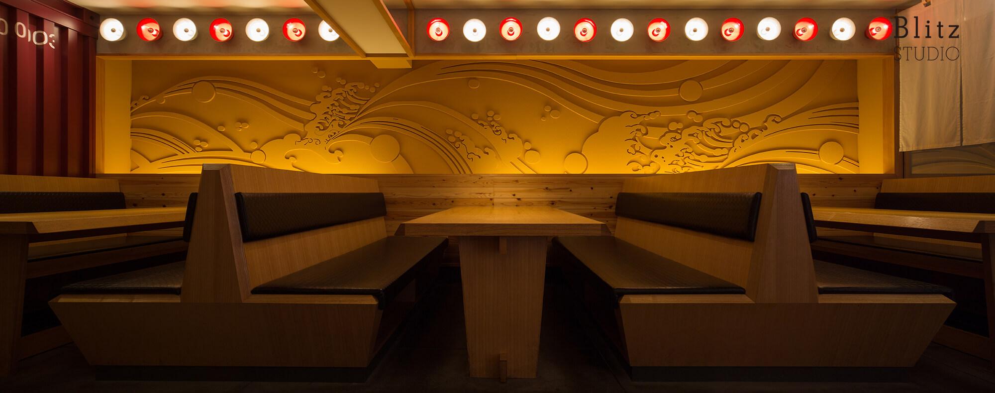 『HAKATA RAMEN GABA hiro』建築写真・竣工写真・インテリア写真8