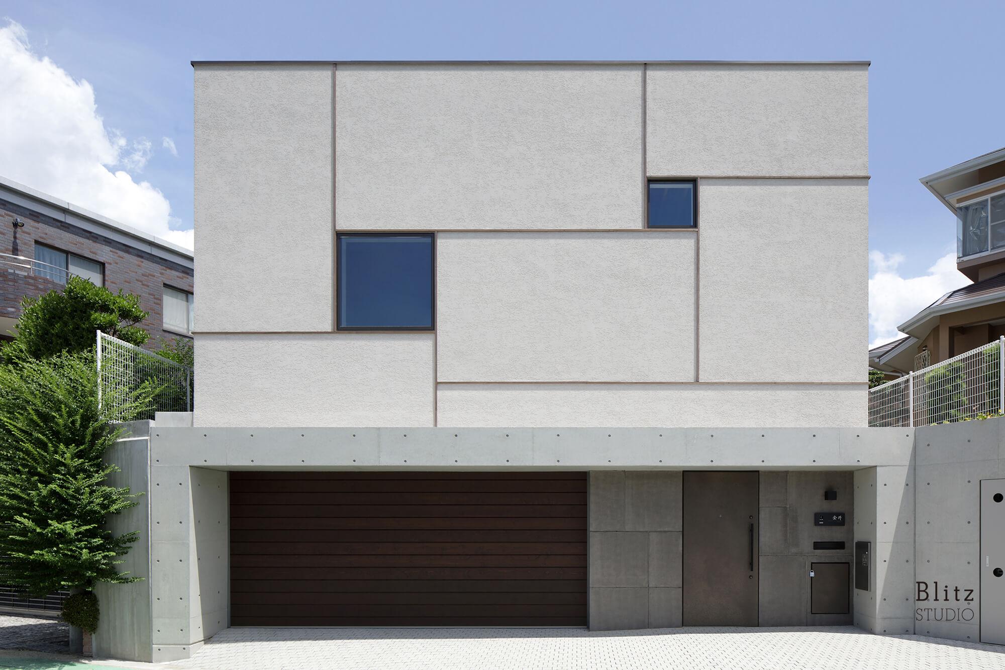 『grid house』-福岡県福岡市-建築写真・竣工写真・インテリア写真1
