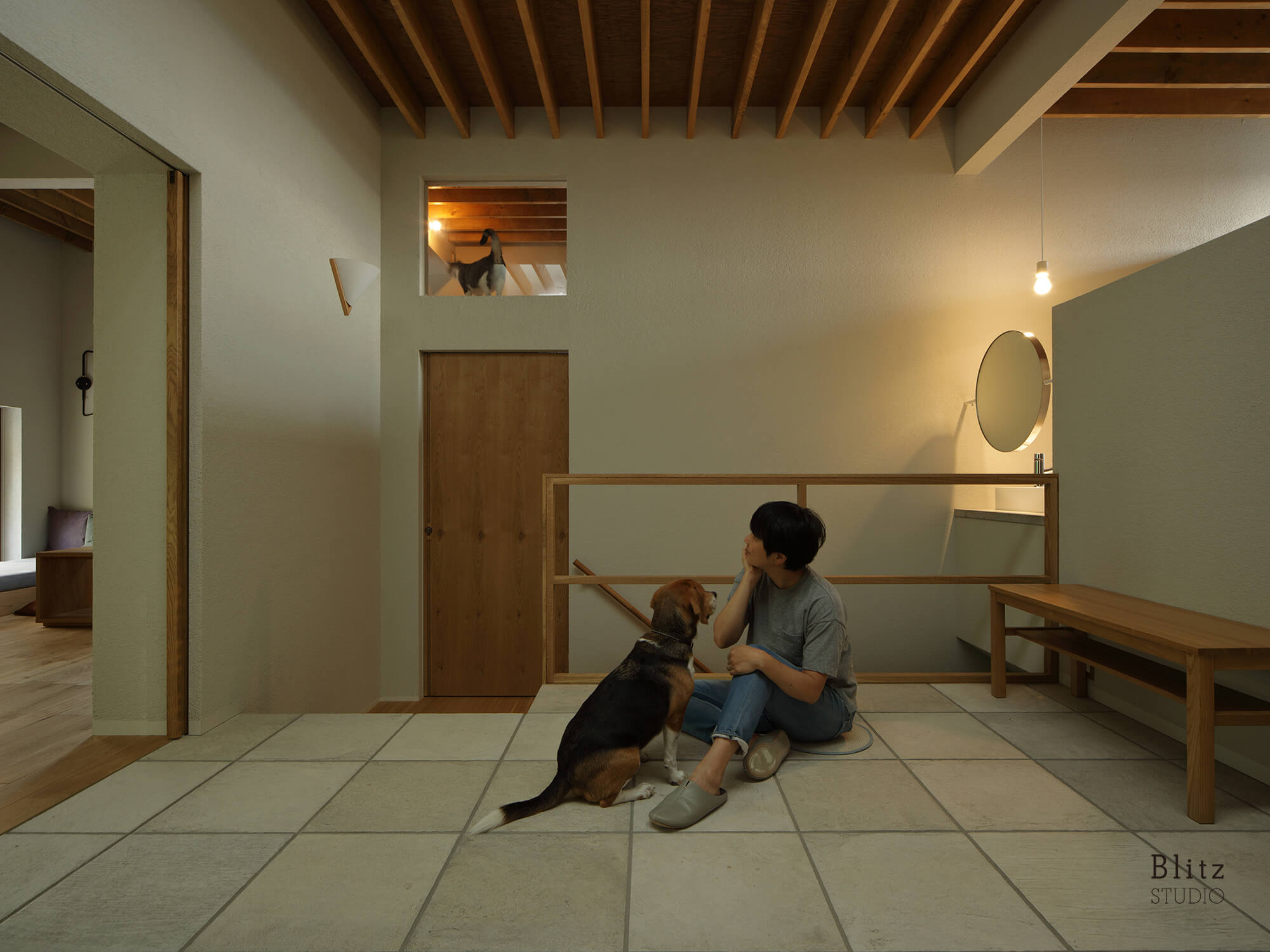 『grid house』-福岡県福岡市-建築写真・竣工写真・インテリア写真4