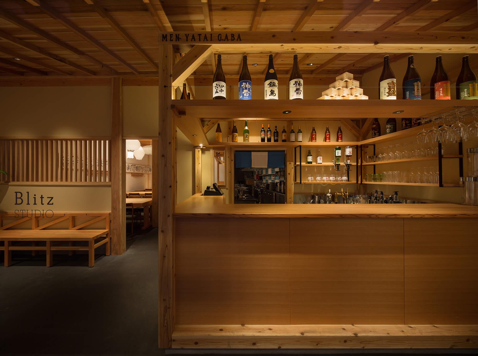 『麺屋台 我馬』-広島県広島市-建築写真・竣工写真・インテリア写真3