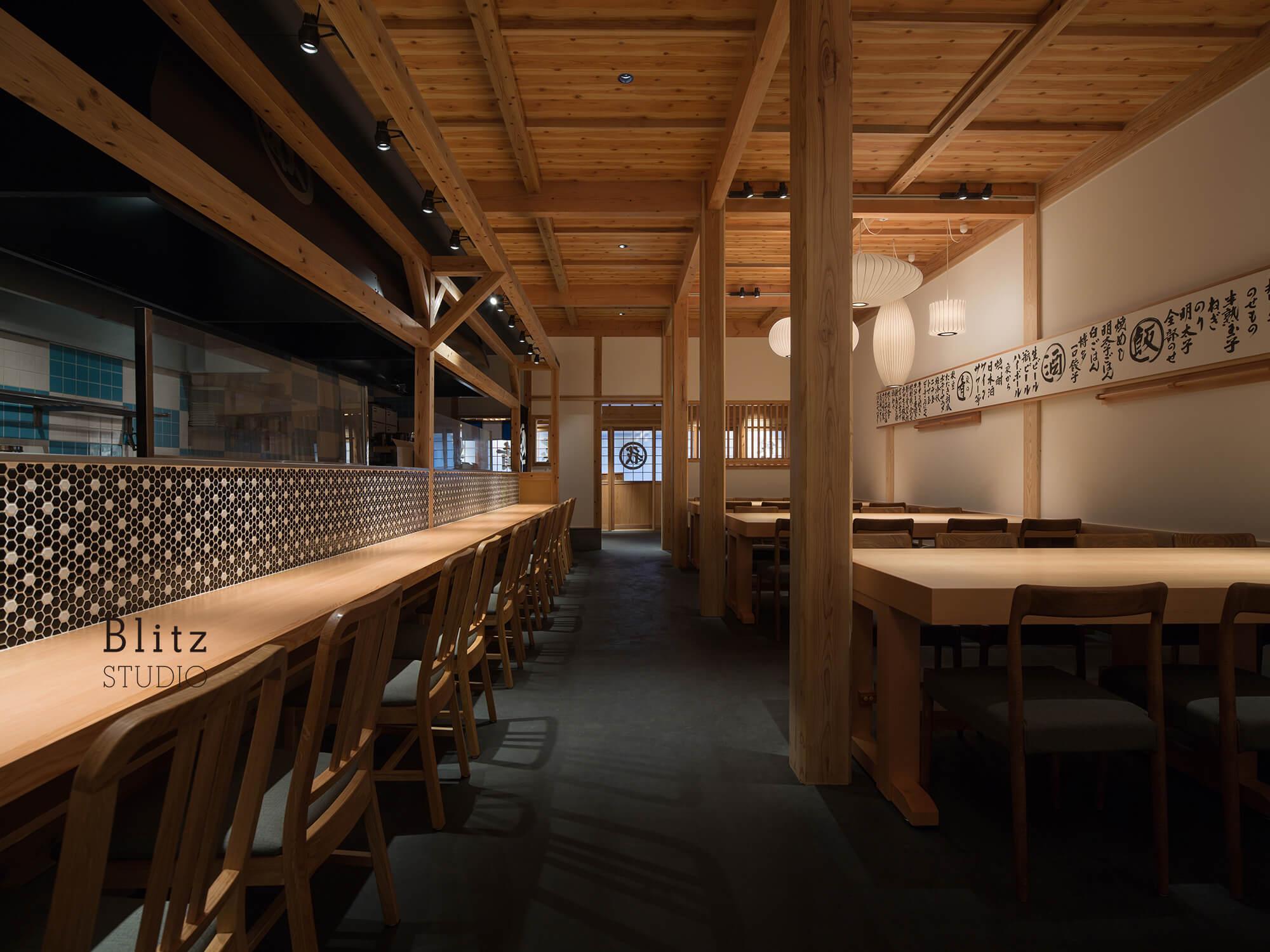 『麺屋台 我馬』-広島県広島市-建築写真・竣工写真・インテリア写真5