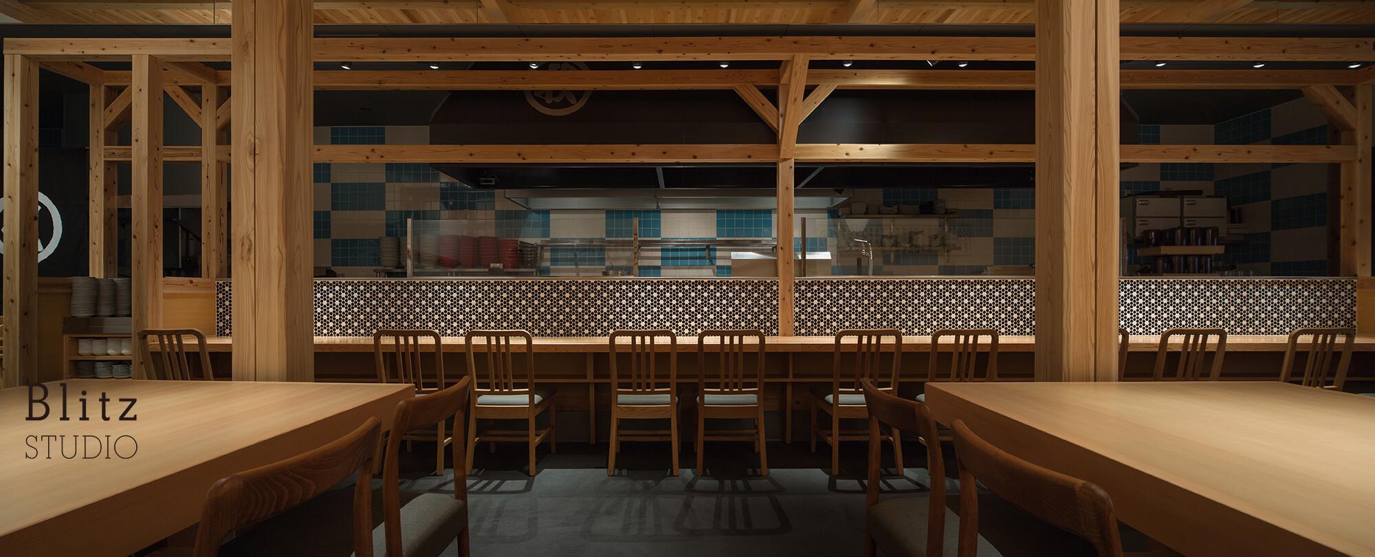 『麺屋台 我馬』建築写真・竣工写真・インテリア写真6