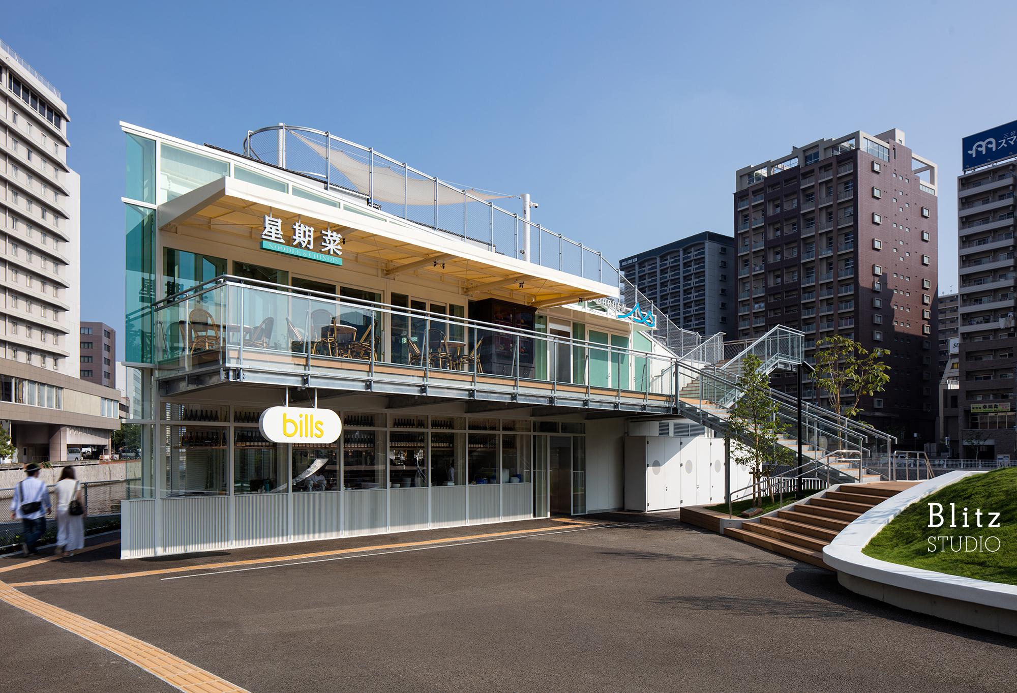 『星期菜 NOODLE & CHINOIS』-福岡県福岡市-建築写真・竣工写真・インテリア写真1