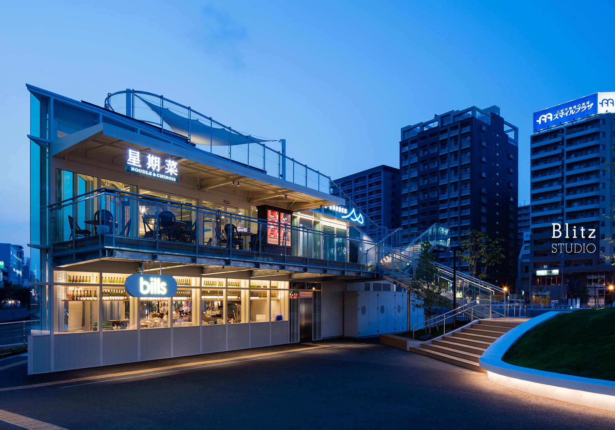 『星期菜 NOODLE & CHINOIS』-福岡県福岡市-建築写真・竣工写真・インテリア写真2