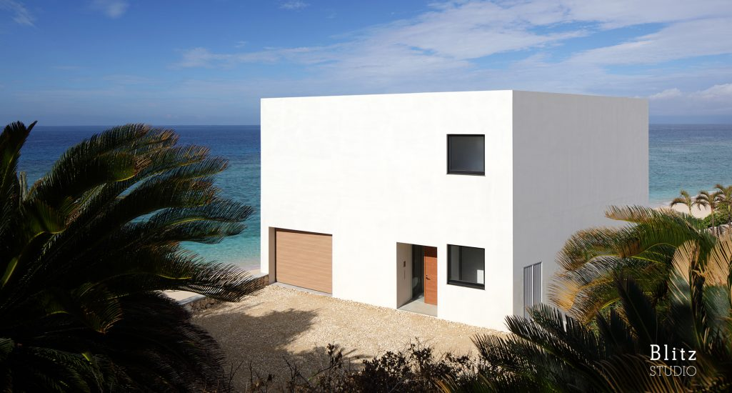 『与論島の家』-鹿児島県与論町-建築写真・竣工写真・インテリア写真