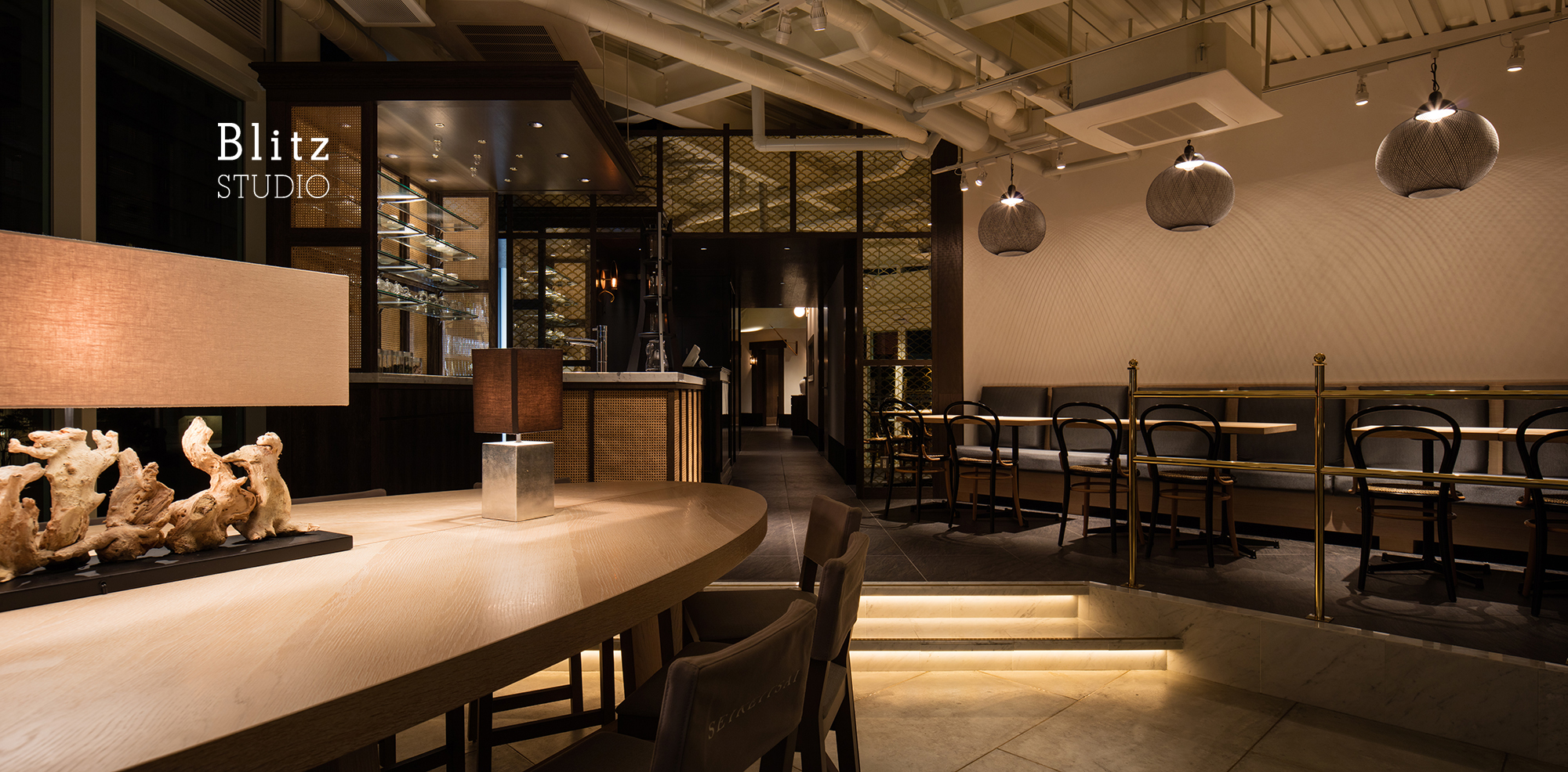 『星期菜 NOODLE & CHINOIS』建築写真・竣工写真・インテリア写真6