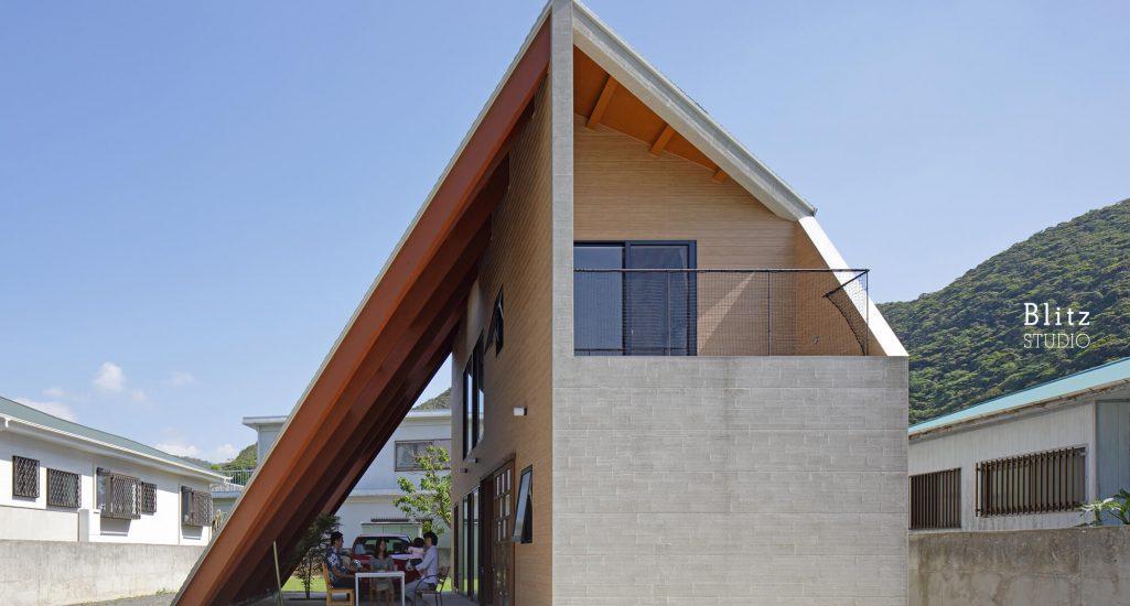 『大屋根の家』-鹿児島県奄美大島-建築写真・竣工写真・インテリア写真