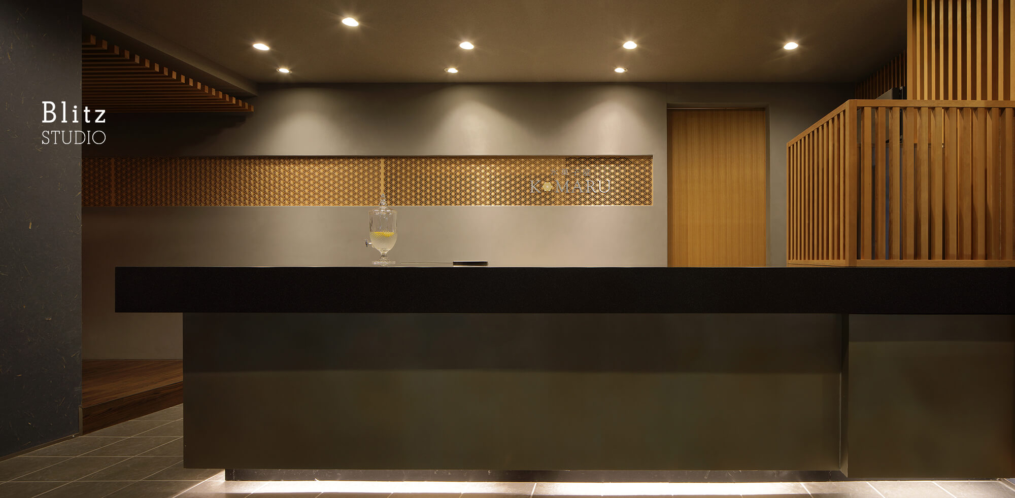 『氷菓子店 KOMARU』-北九州市八幡-建築写真・竣工写真・インテリア写真1