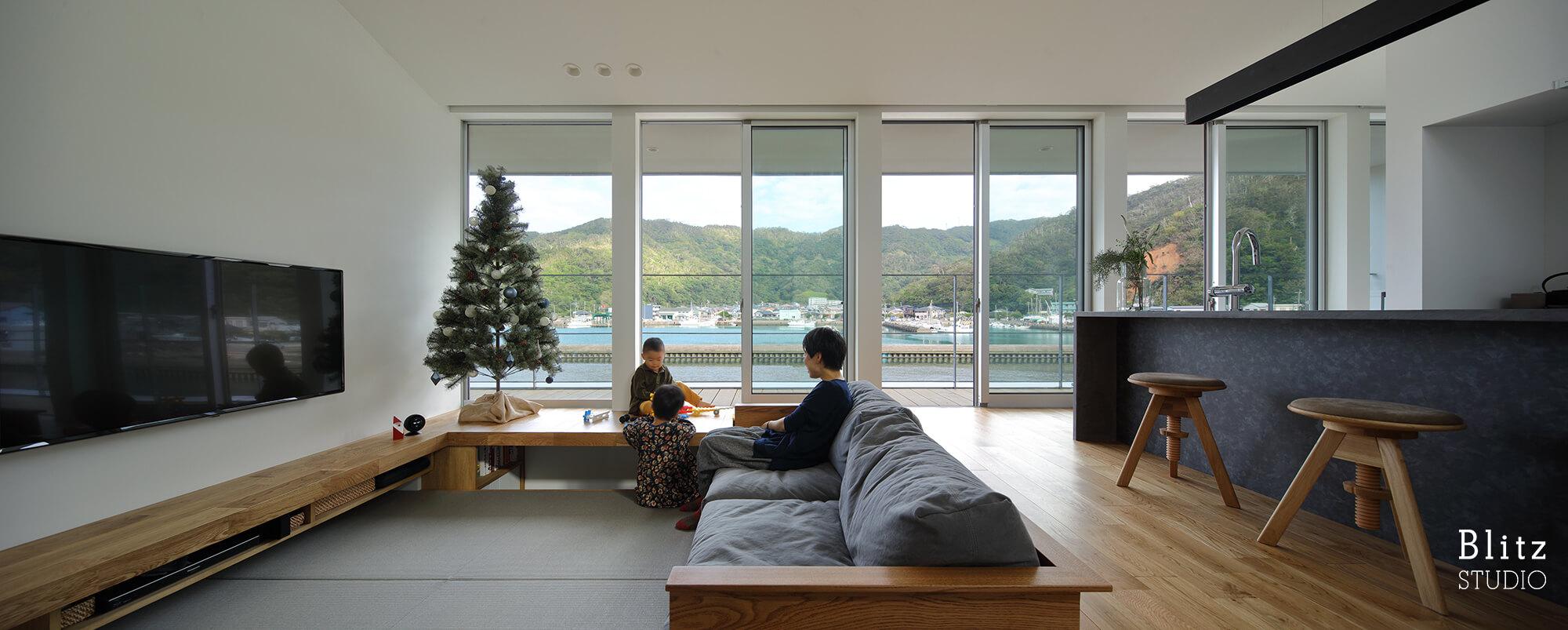 『名瀬鳩浜の家』建築写真・竣工写真・インテリア写真10