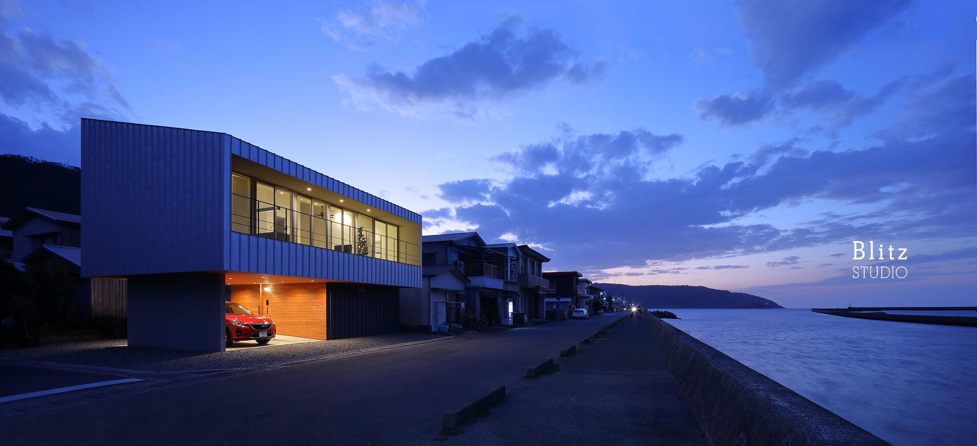 『名瀬鳩浜の家』建築写真・竣工写真・インテリア写真13