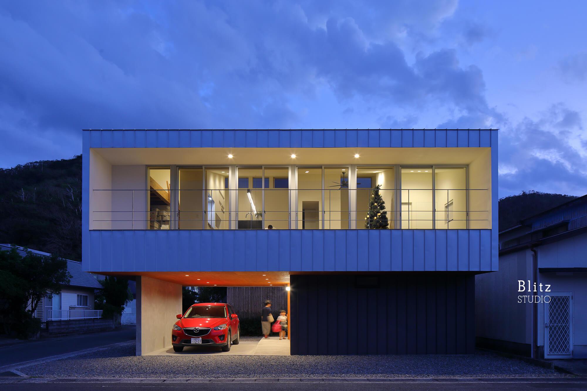 『名瀬鳩浜の家』建築写真・竣工写真・インテリア写真14