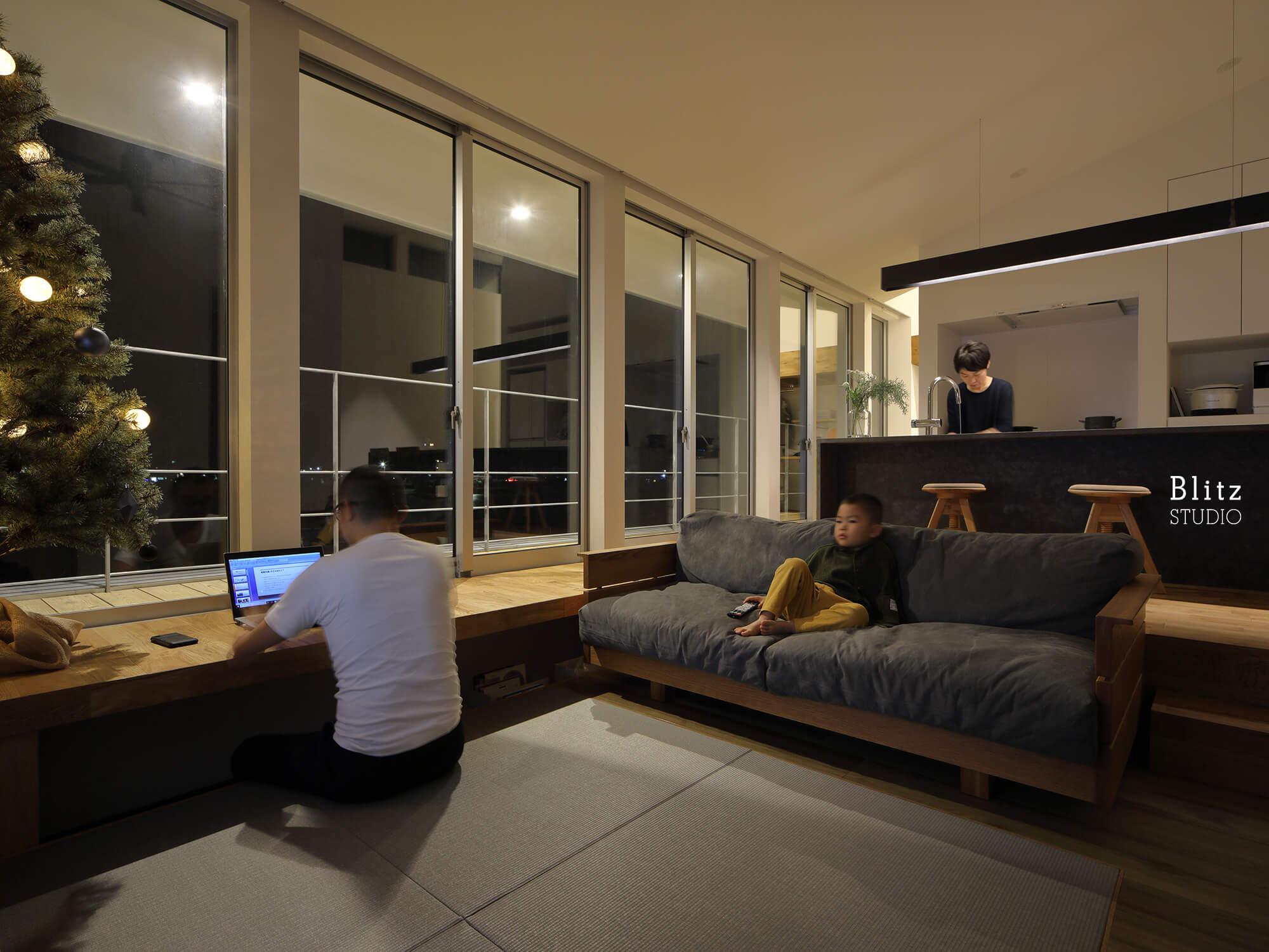 『名瀬鳩浜の家』建築写真・竣工写真・インテリア写真17