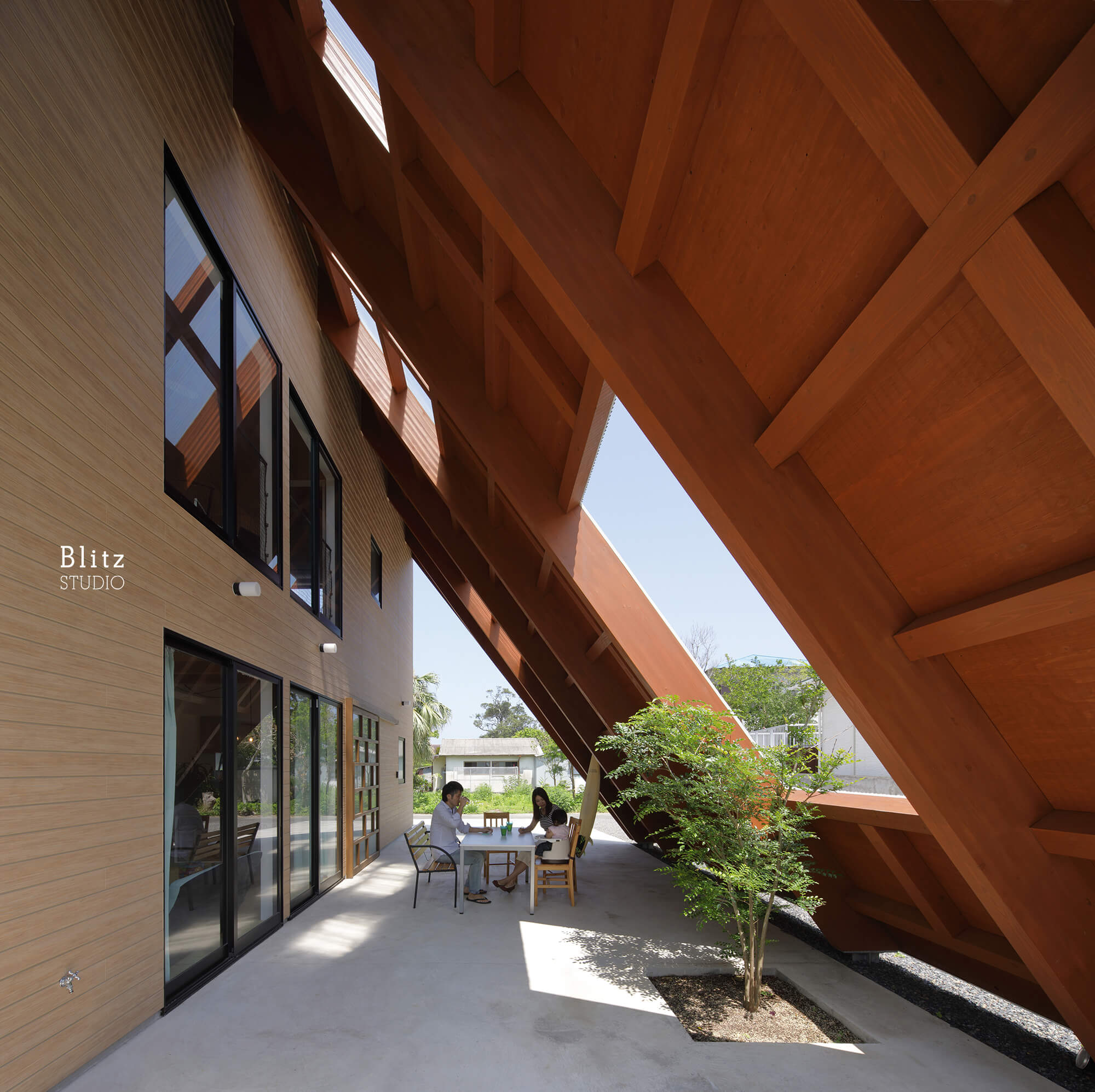『大屋根の家』-鹿児島県奄美大島-建築写真・竣工写真・インテリア写真4