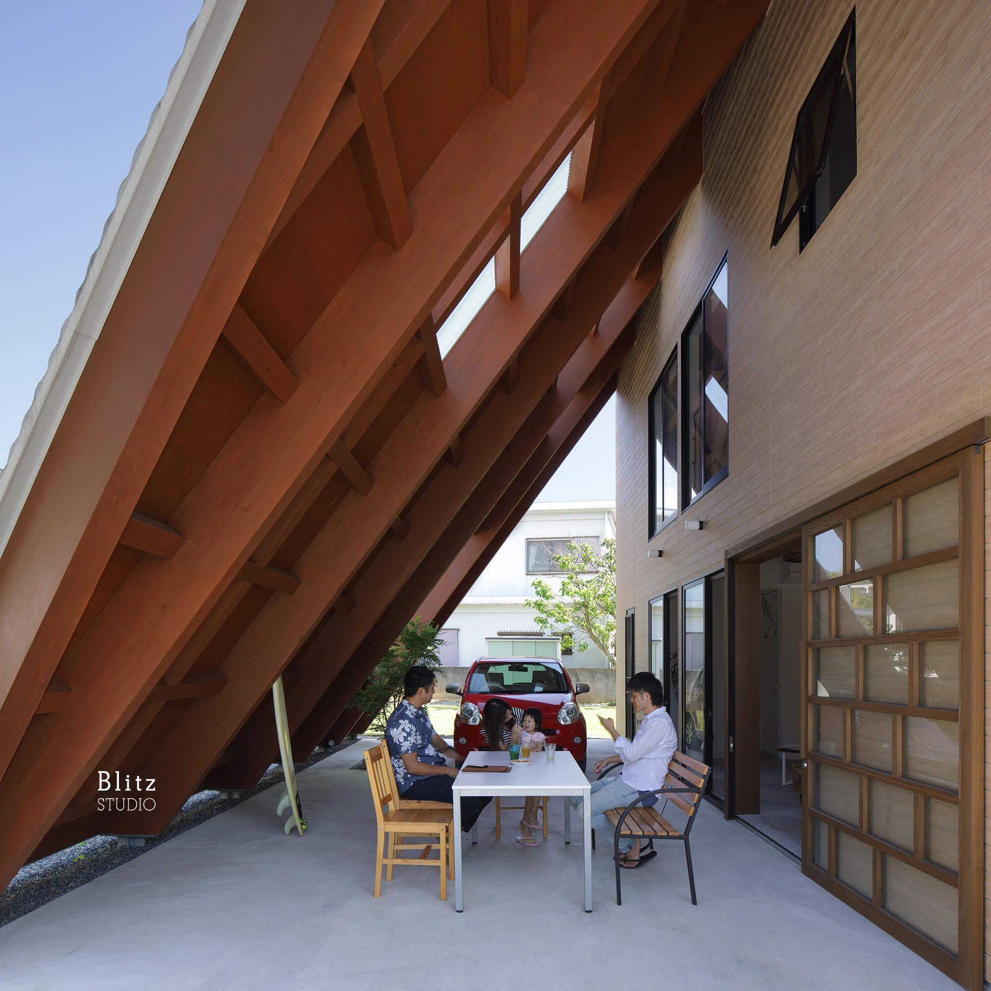 『大屋根の家』-鹿児島県奄美大島-建築写真・竣工写真・インテリア写真5