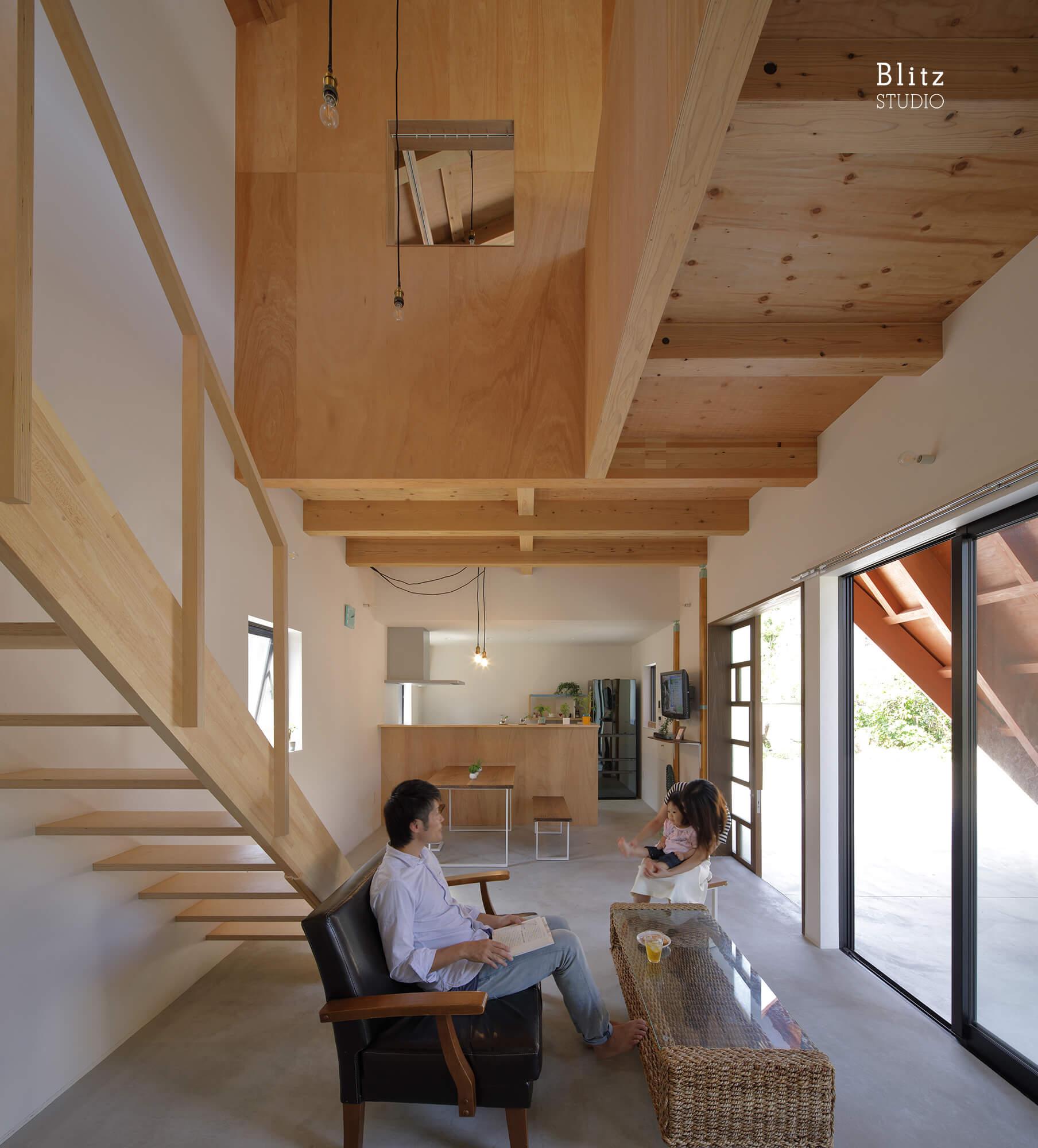 『大屋根の家』建築写真・竣工写真・インテリア写真6