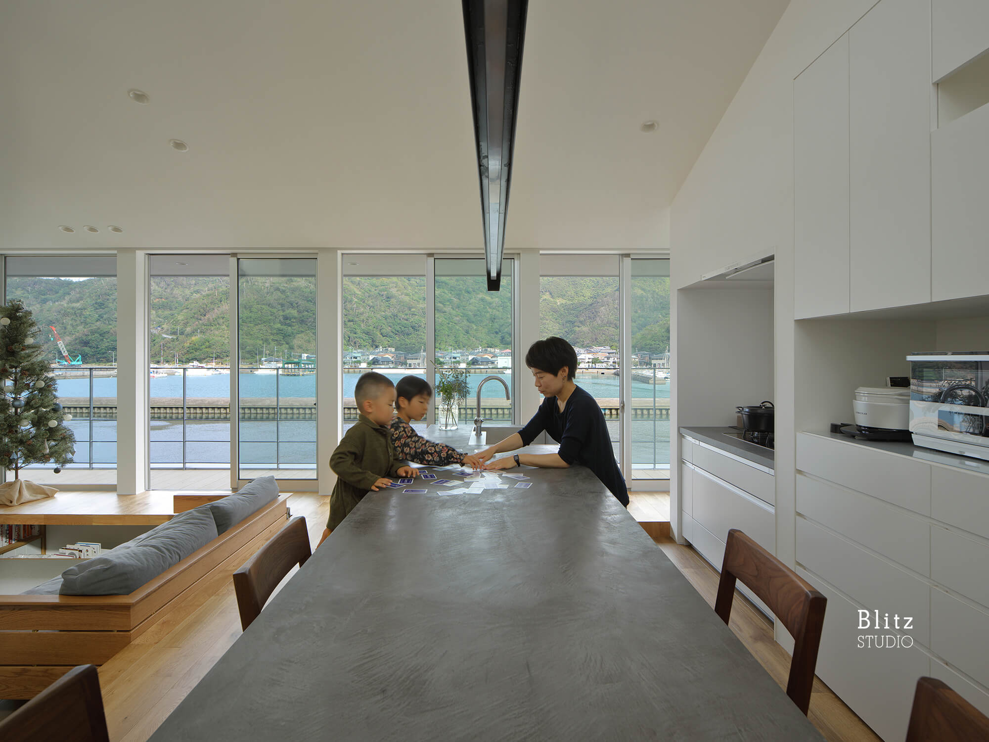 『名瀬鳩浜の家』建築写真・竣工写真・インテリア写真6