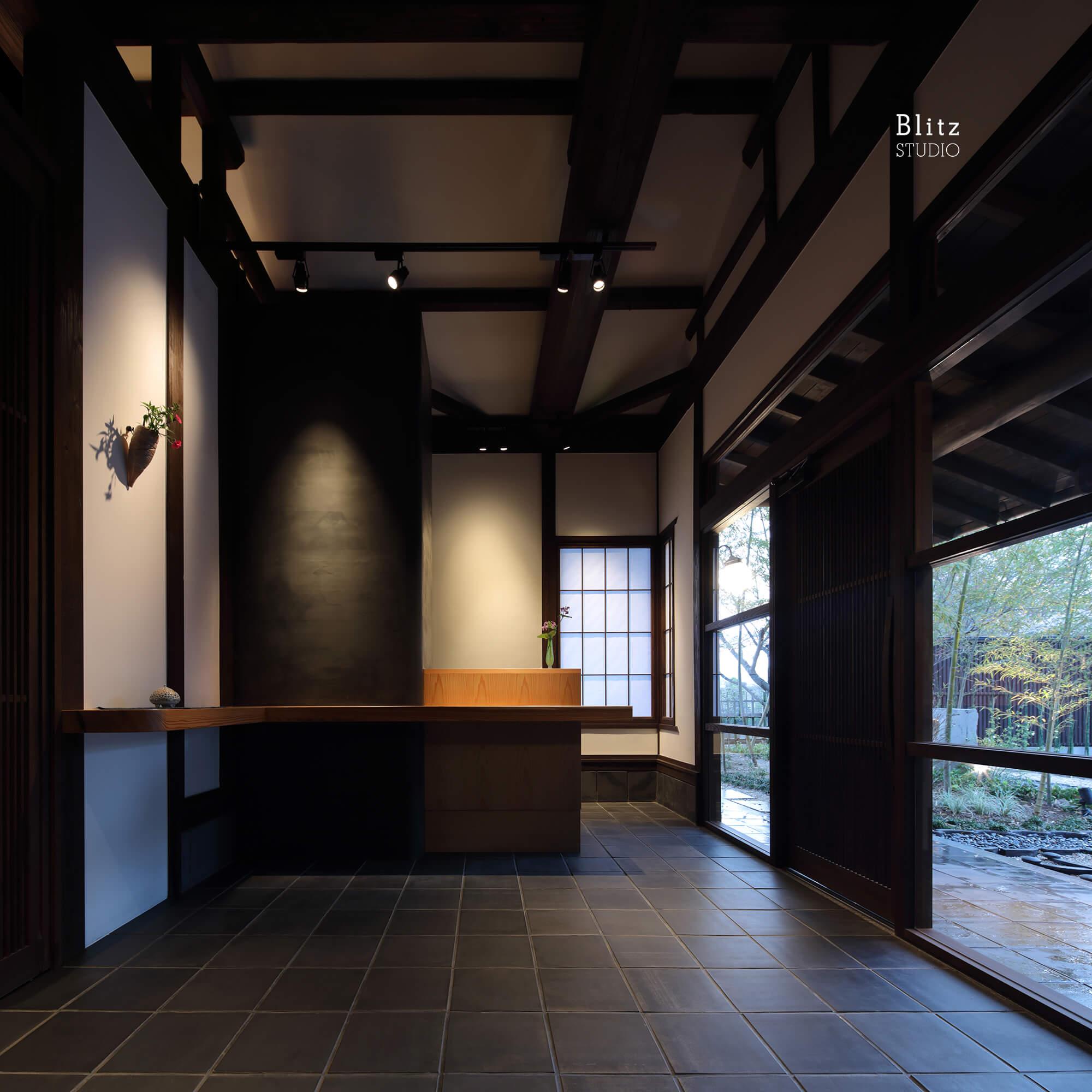 『嬉野鉄板焼えん』建築写真・竣工写真・インテリア写真6