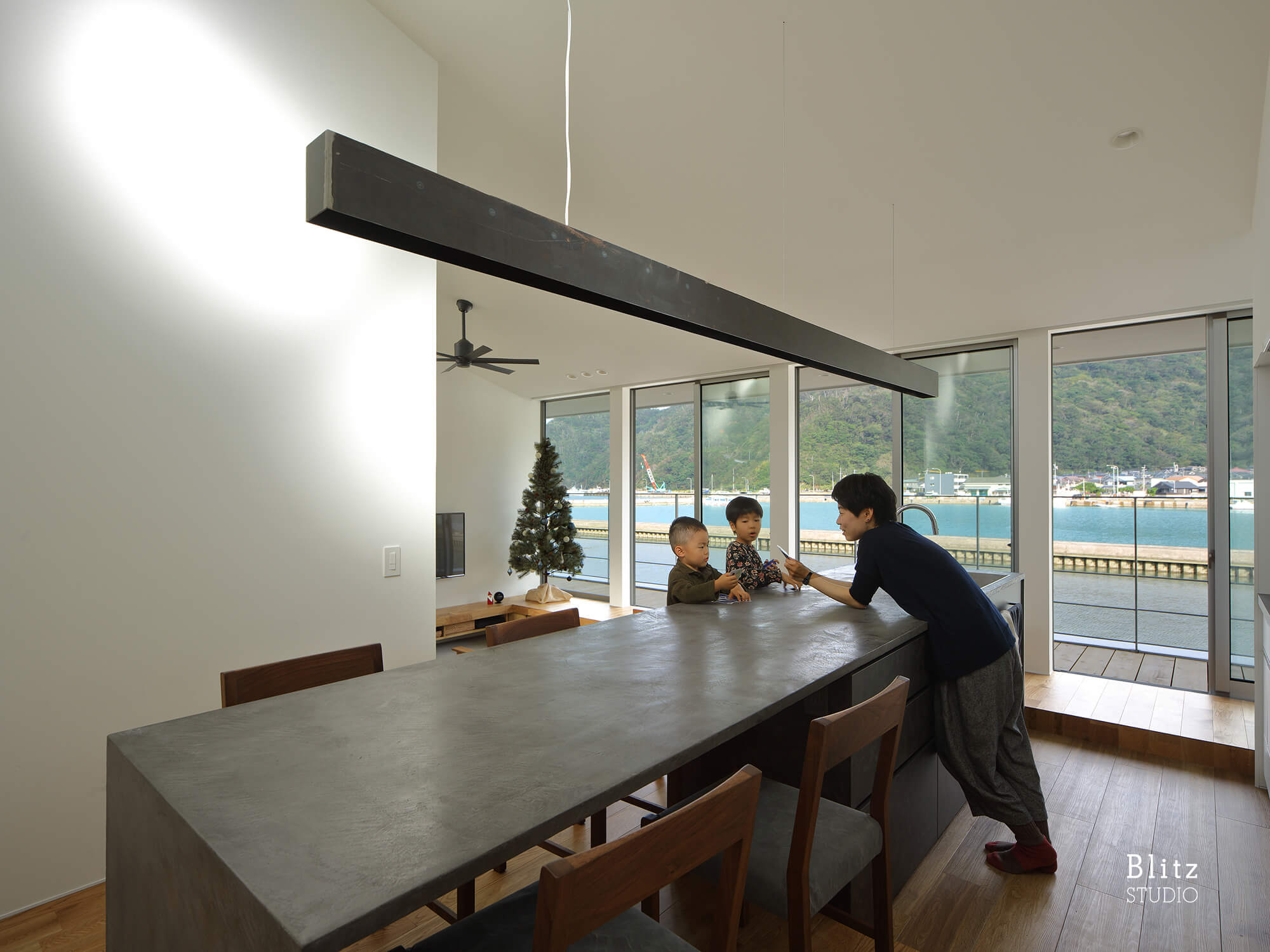 『名瀬鳩浜の家』建築写真・竣工写真・インテリア写真7
