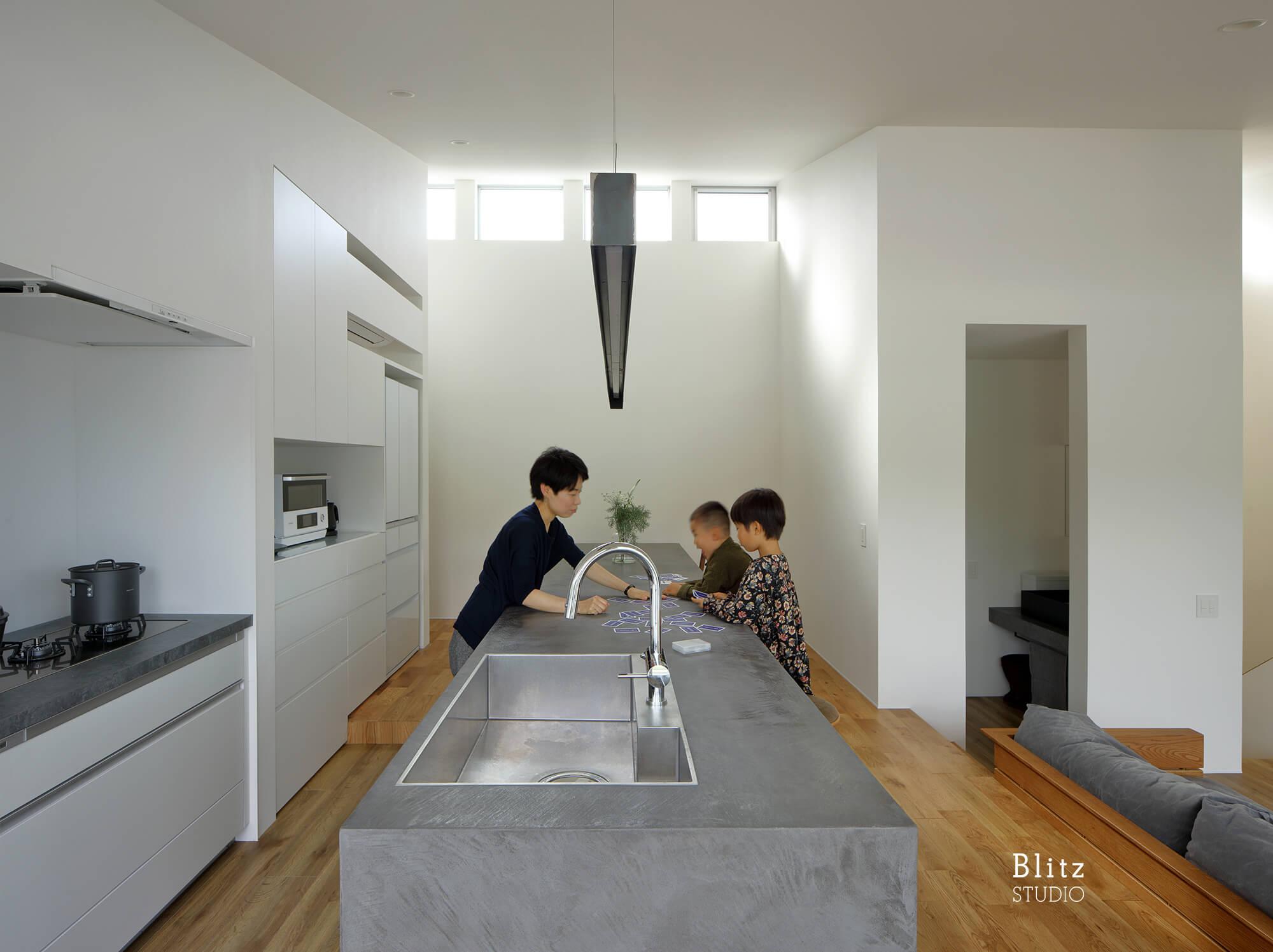 『名瀬鳩浜の家』建築写真・竣工写真・インテリア写真8