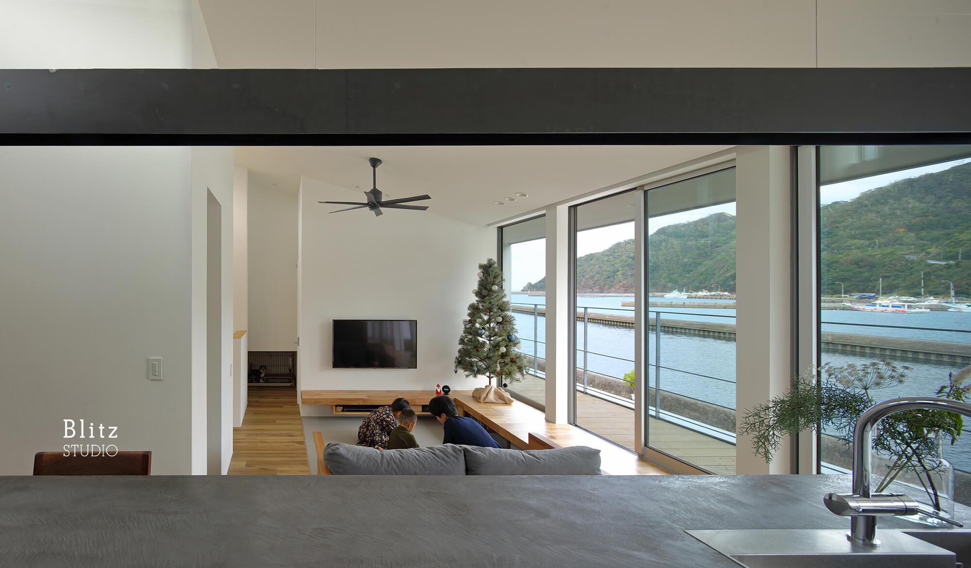 『名瀬鳩浜の家』建築写真・竣工写真・インテリア写真9