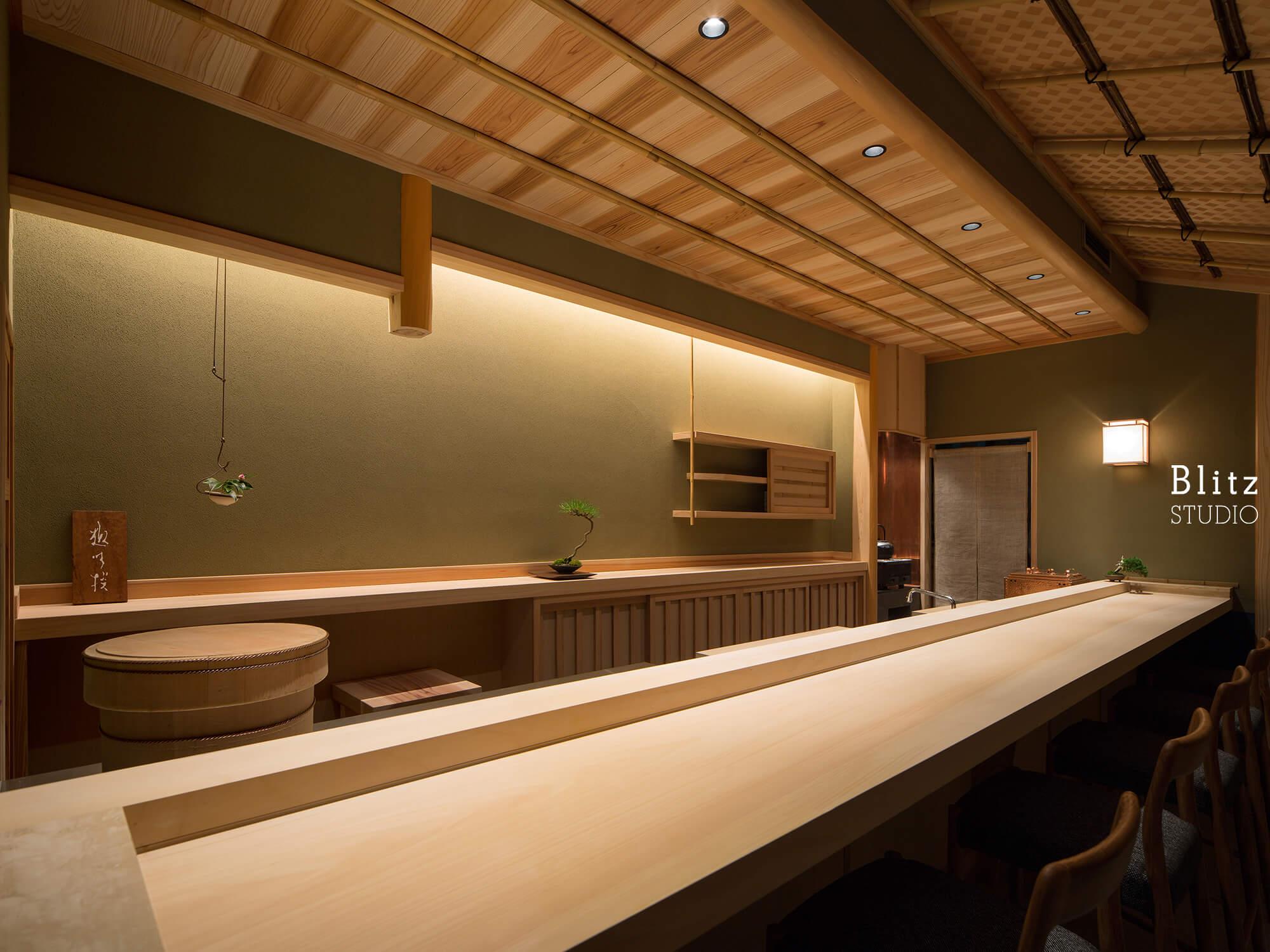 『趣味撰』-福岡県福岡市-建築写真・竣工写真・インテリア写真3