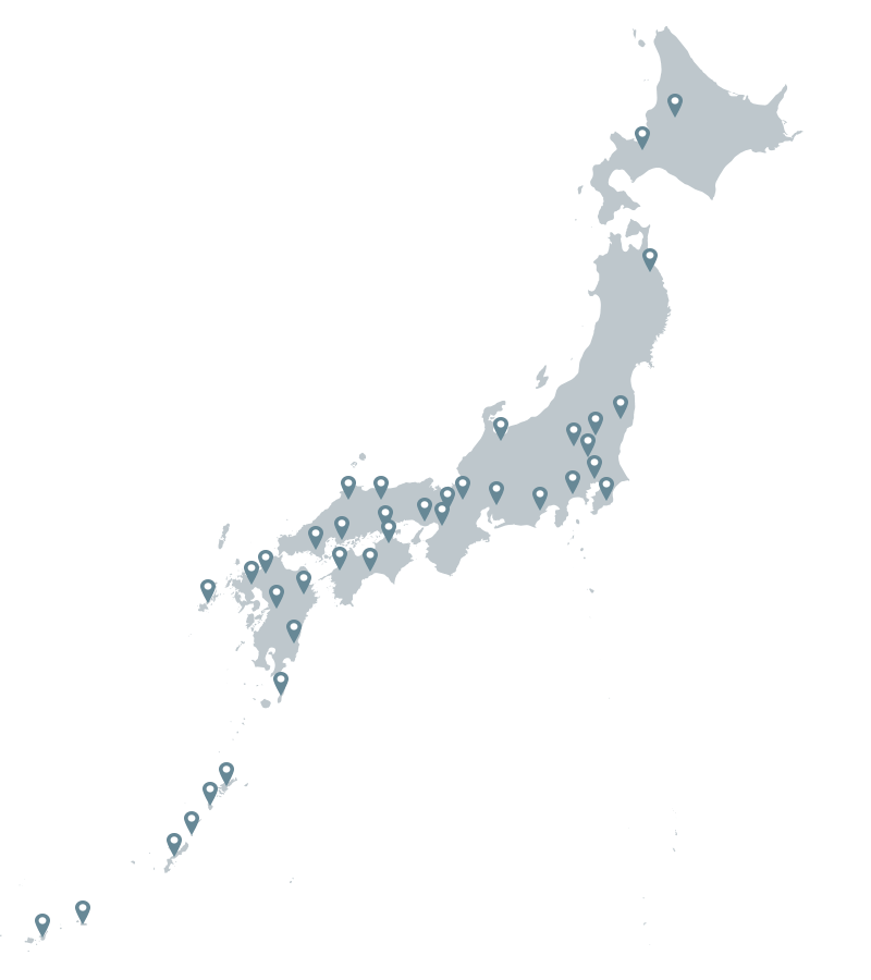 SHOOTING MAP JAPAN