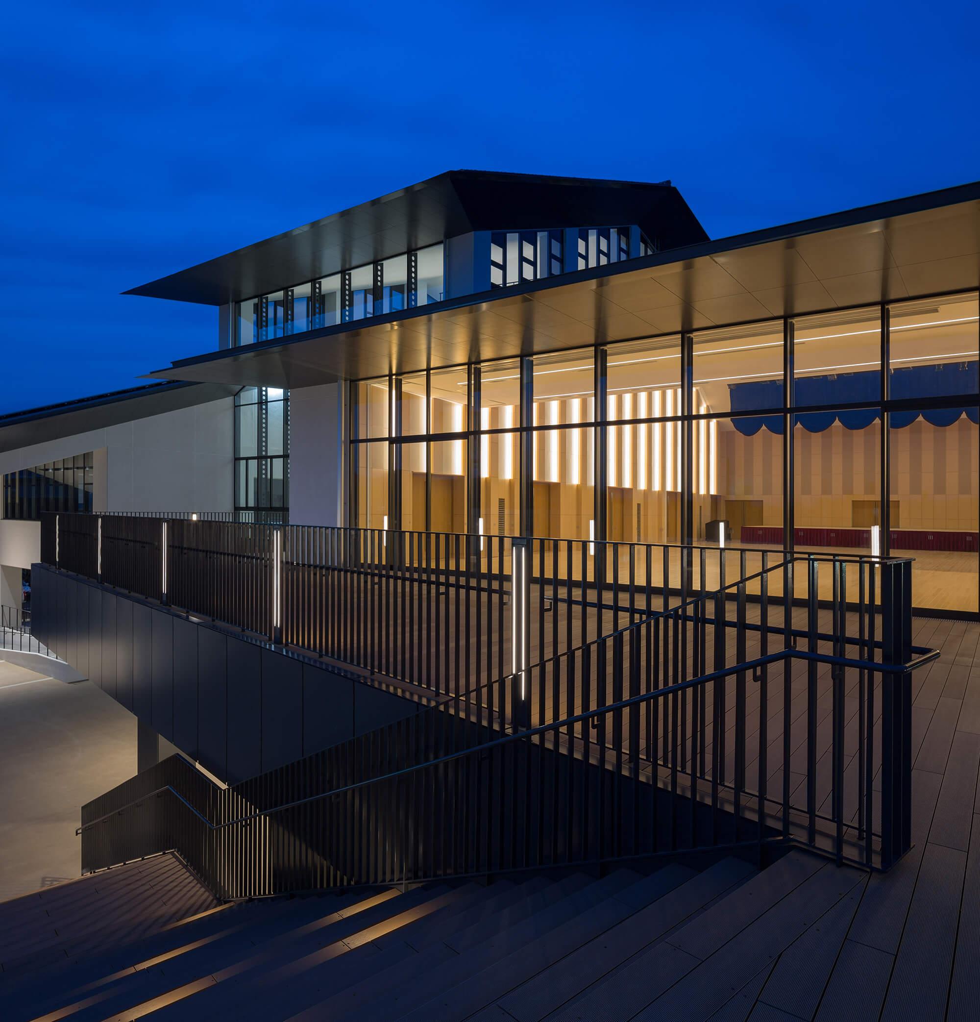 『小城まちなか市民交流センター』-佐賀県小城市-建築写真・竣工写真・インテリア写真3