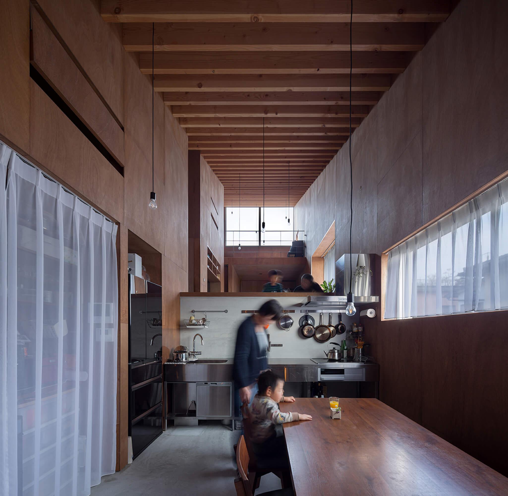 『5層のワンルーム住居』建築写真・竣工写真・インテリア写真9