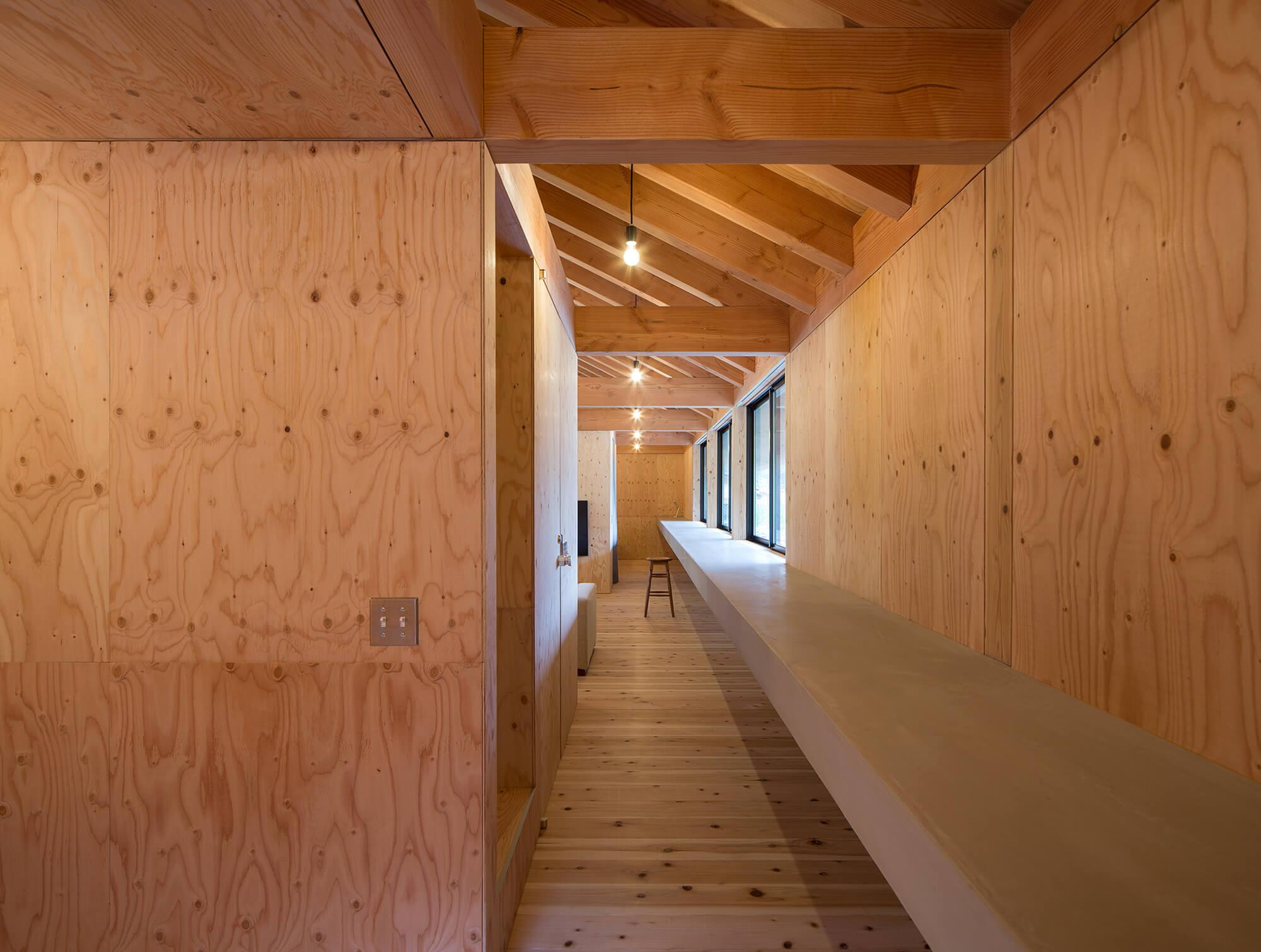 『大屋根の棲家』建築写真・竣工写真・インテリア写真10
