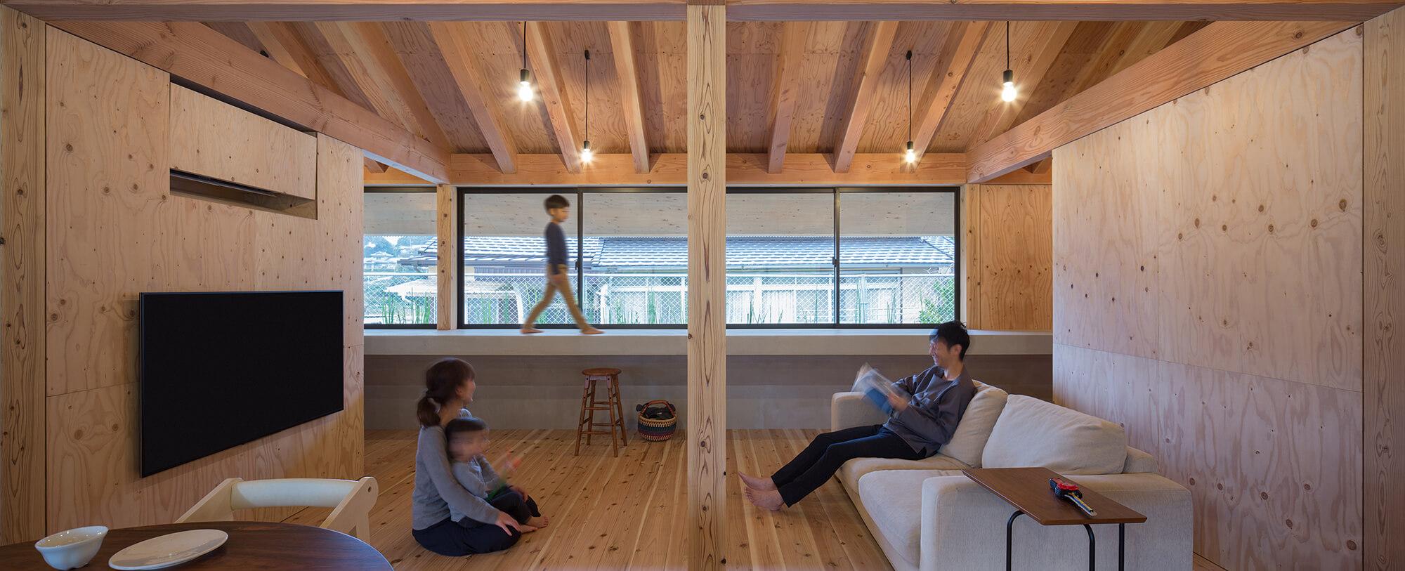 『大屋根の棲家』建築写真・竣工写真・インテリア写真15