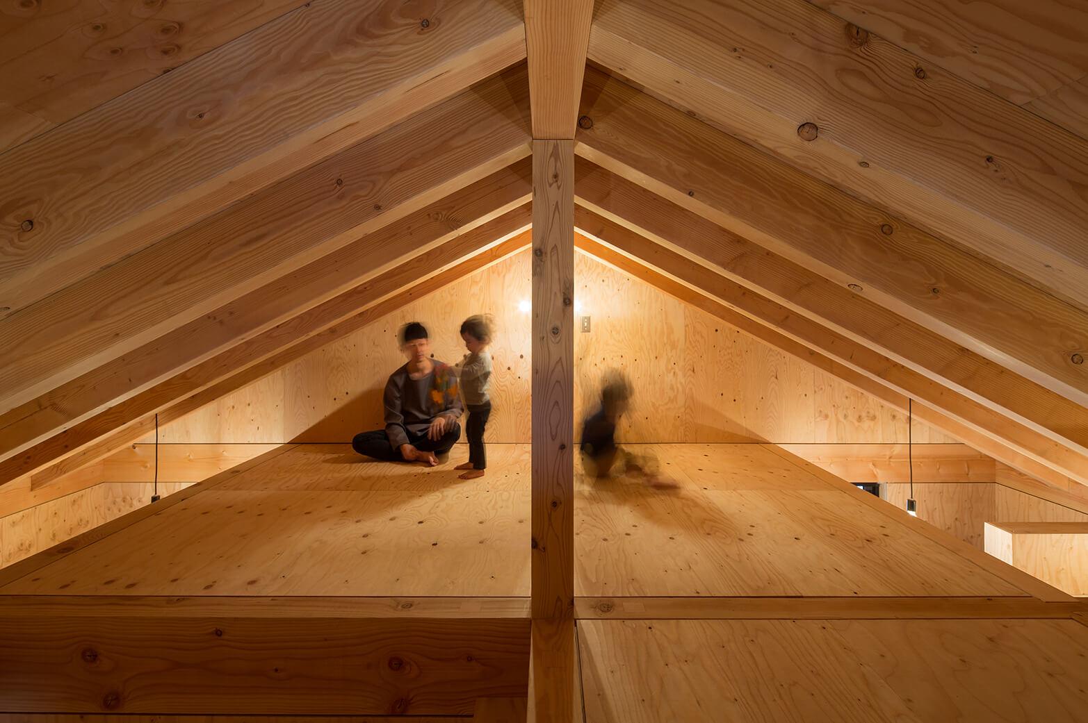 『大屋根の棲家』建築写真・竣工写真・インテリア写真17