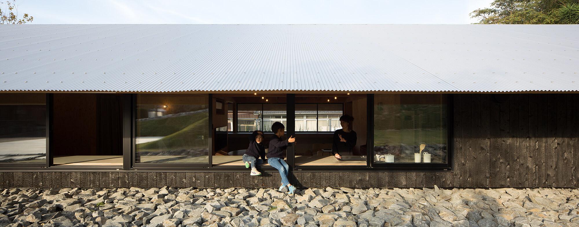 『大屋根の棲家』-長崎県佐世保市-建築写真・竣工写真・インテリア写真5