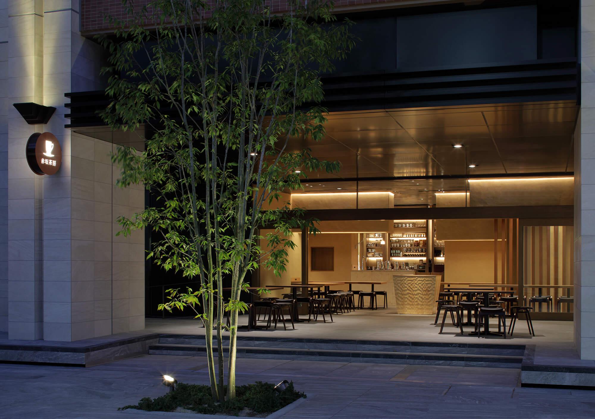 『赤坂茶房』-福岡県福岡市-建築写真・竣工写真・インテリア写真1