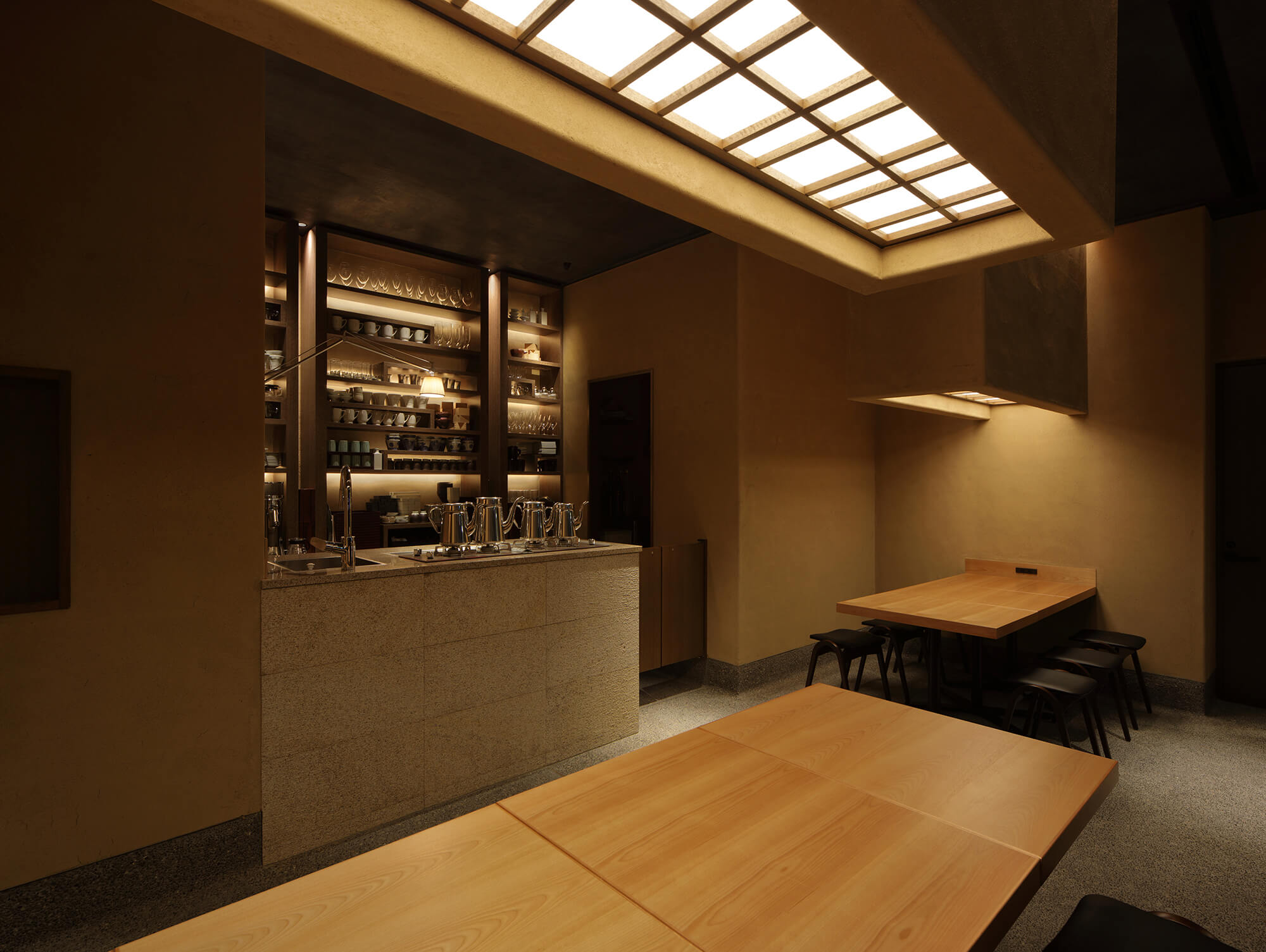 『赤坂茶房』-福岡県福岡市-建築写真・竣工写真・インテリア写真4