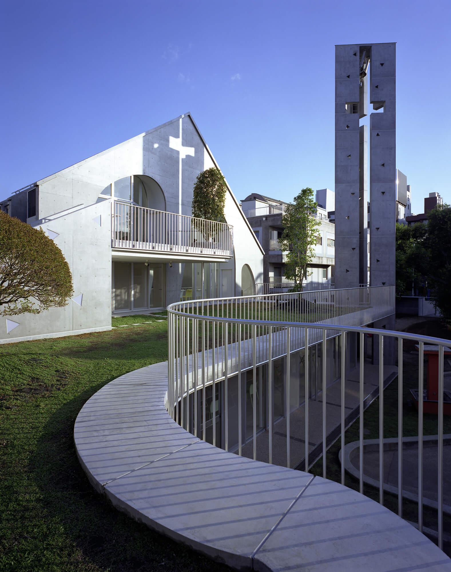 『原宿教会』-東京都-建築写真・竣工写真・インテリア写真4