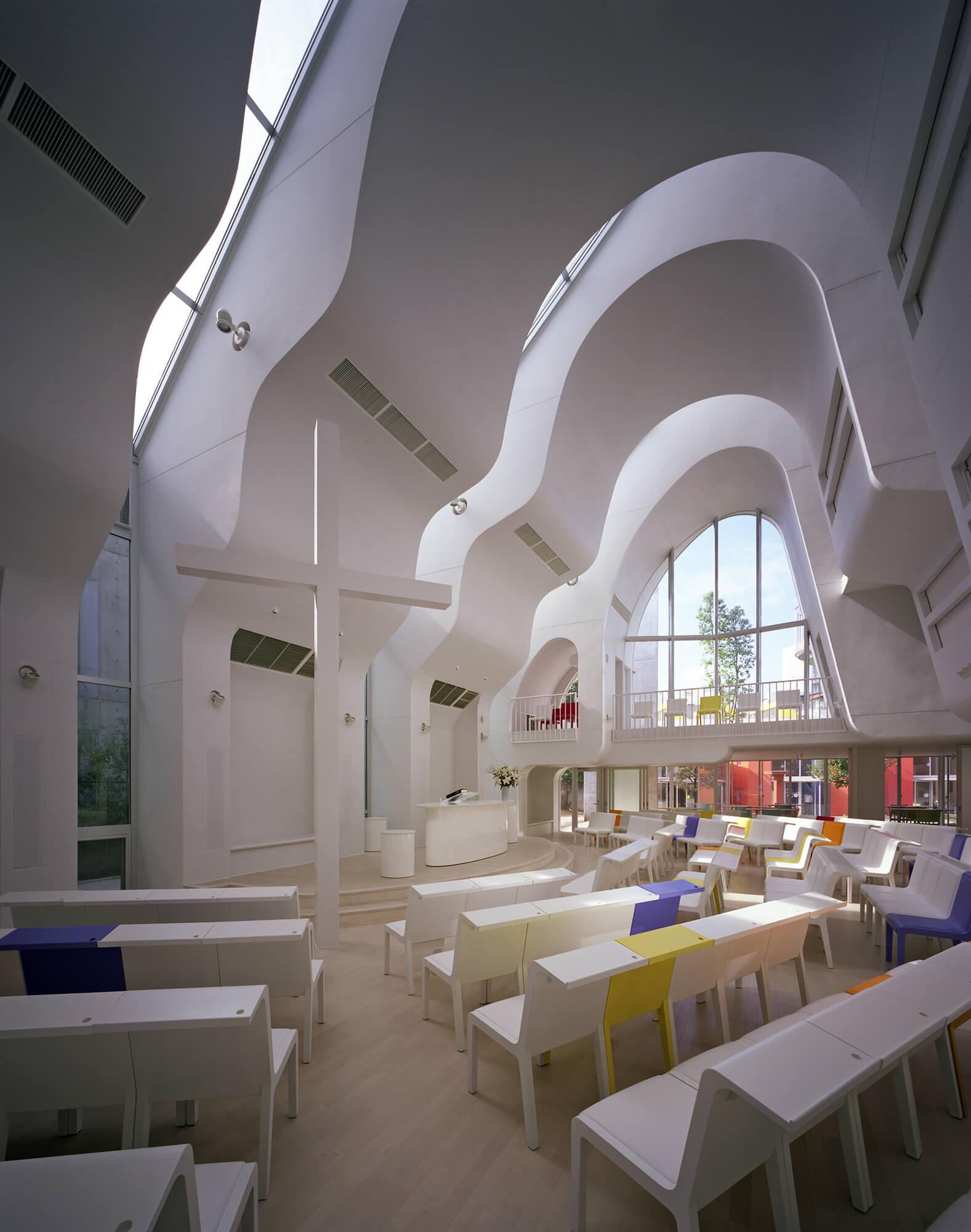 『原宿教会』-東京都-建築写真・竣工写真・インテリア写真5
